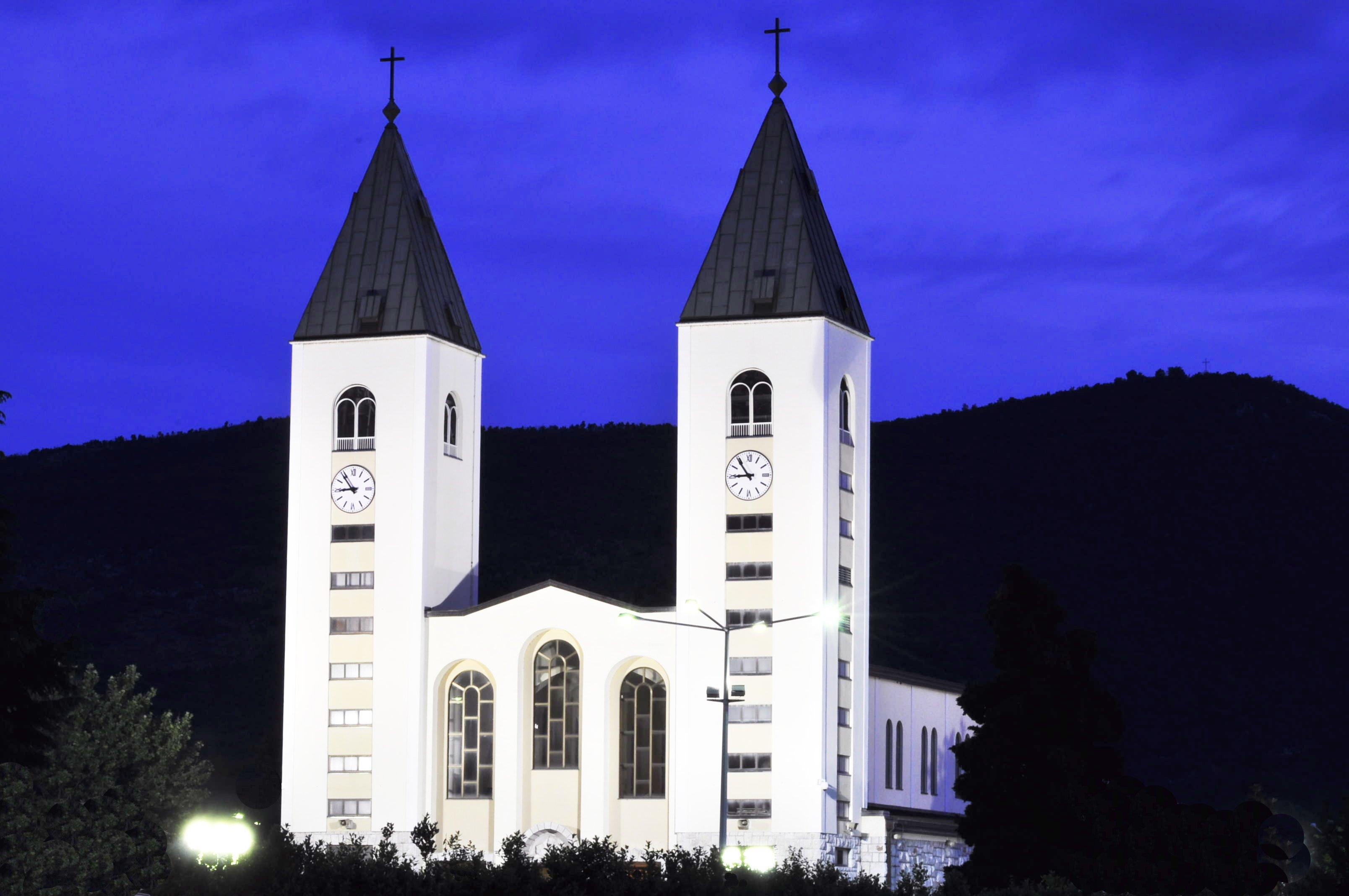 Saint james parish church (st. jakov) medjugorje - hotel pansion porta - bosnia herzegovina - creative commons by gnuckx photo