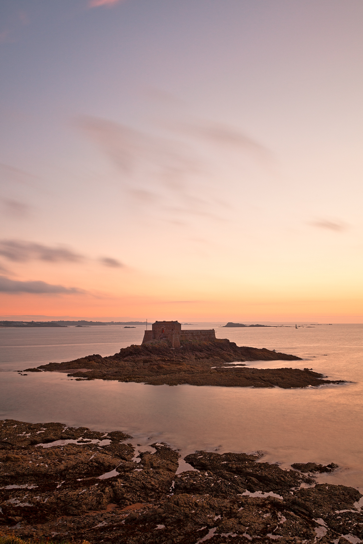 Saint-malo twilight - hdr photo