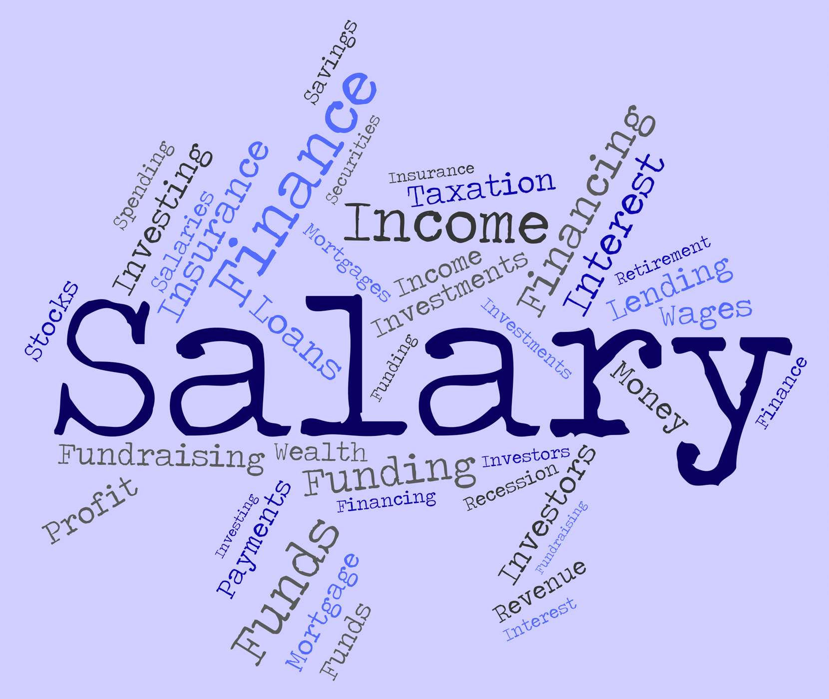 free photo salary word means wage pay and words wage text word