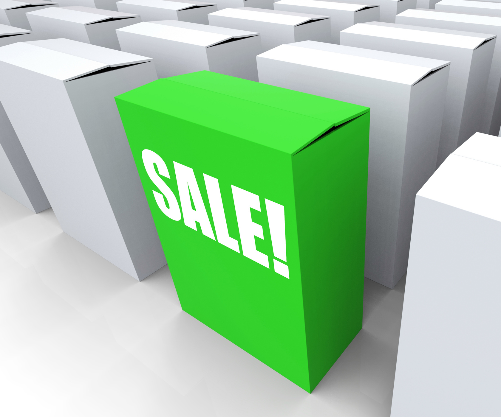 Sale! box shows selling retail and buying photo