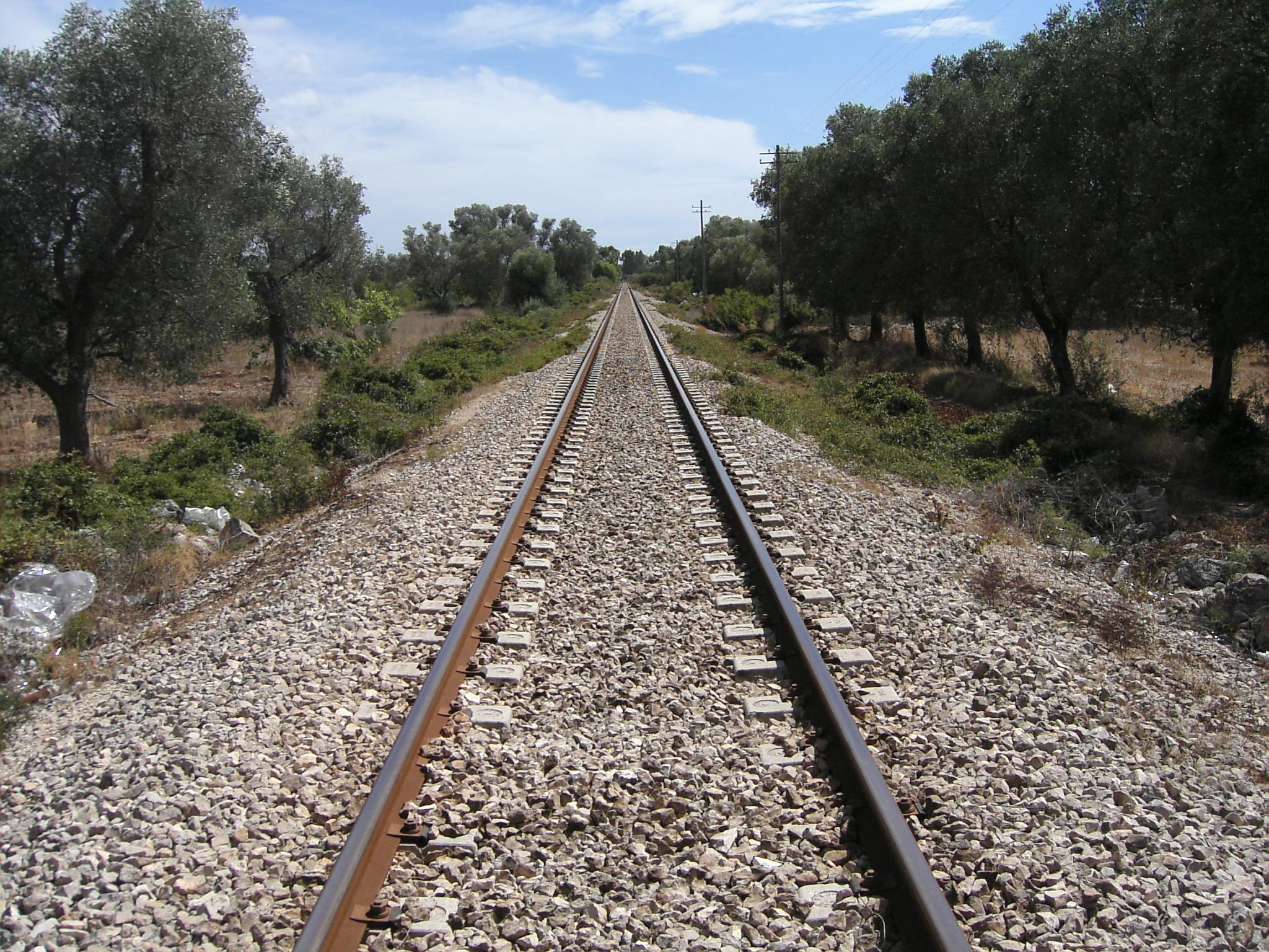 Salento  train  theme, Bspo06, Center, Line, Stone, HQ Photo