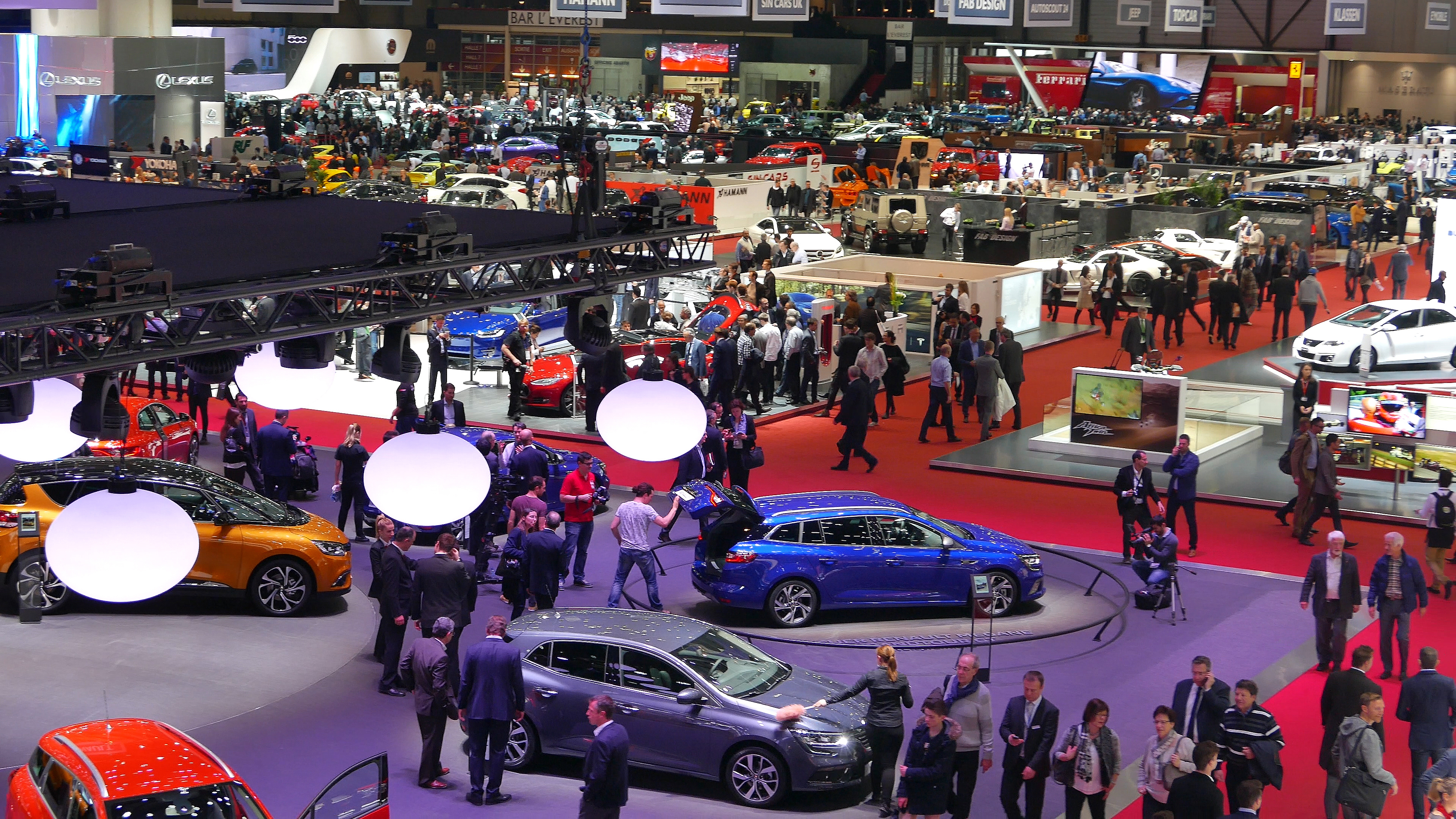 Salon automobile genève 2016 photo