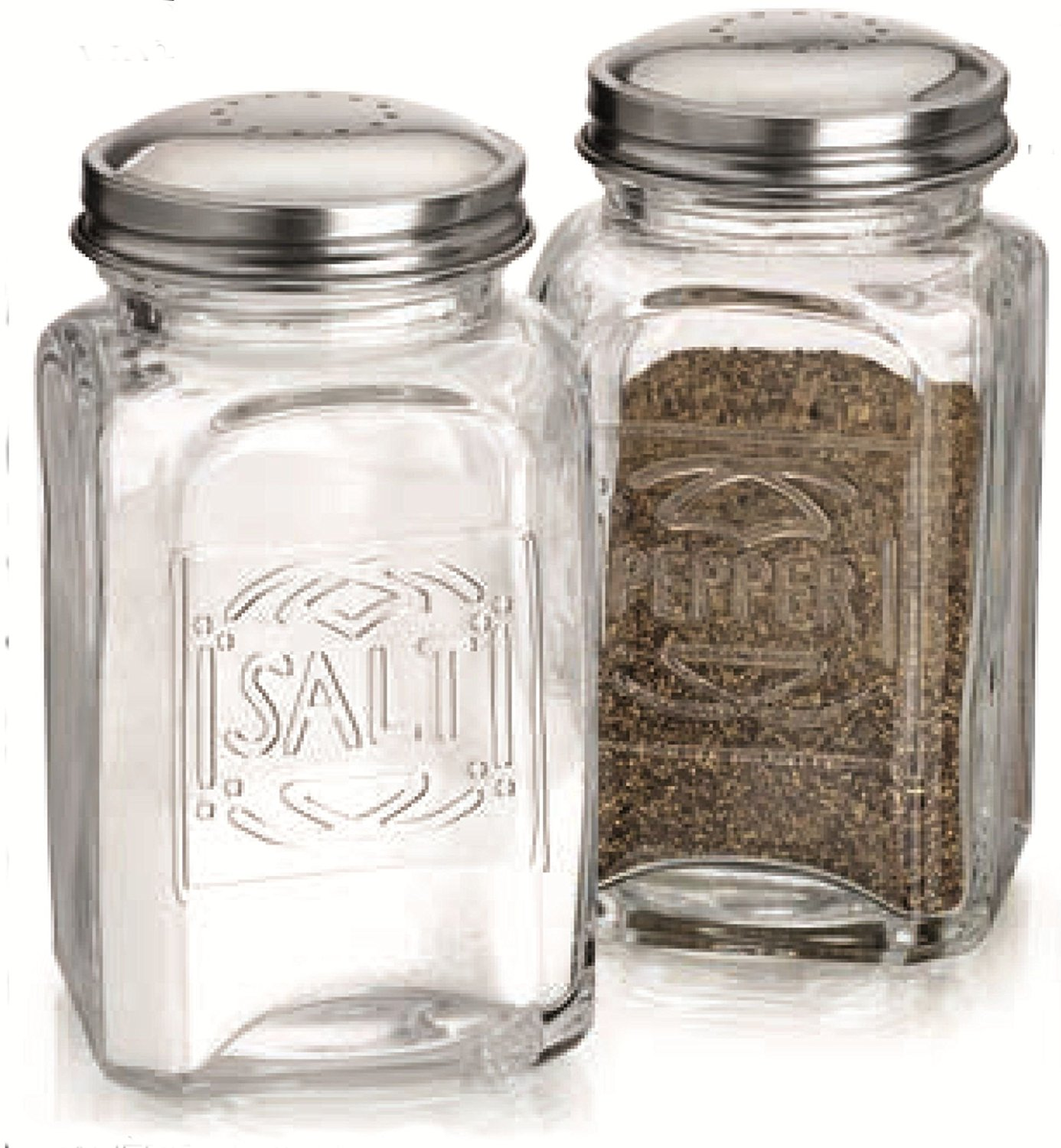 Salt And Pepper Grinders Tags : Vintage Salt And Pepper Shakers ...