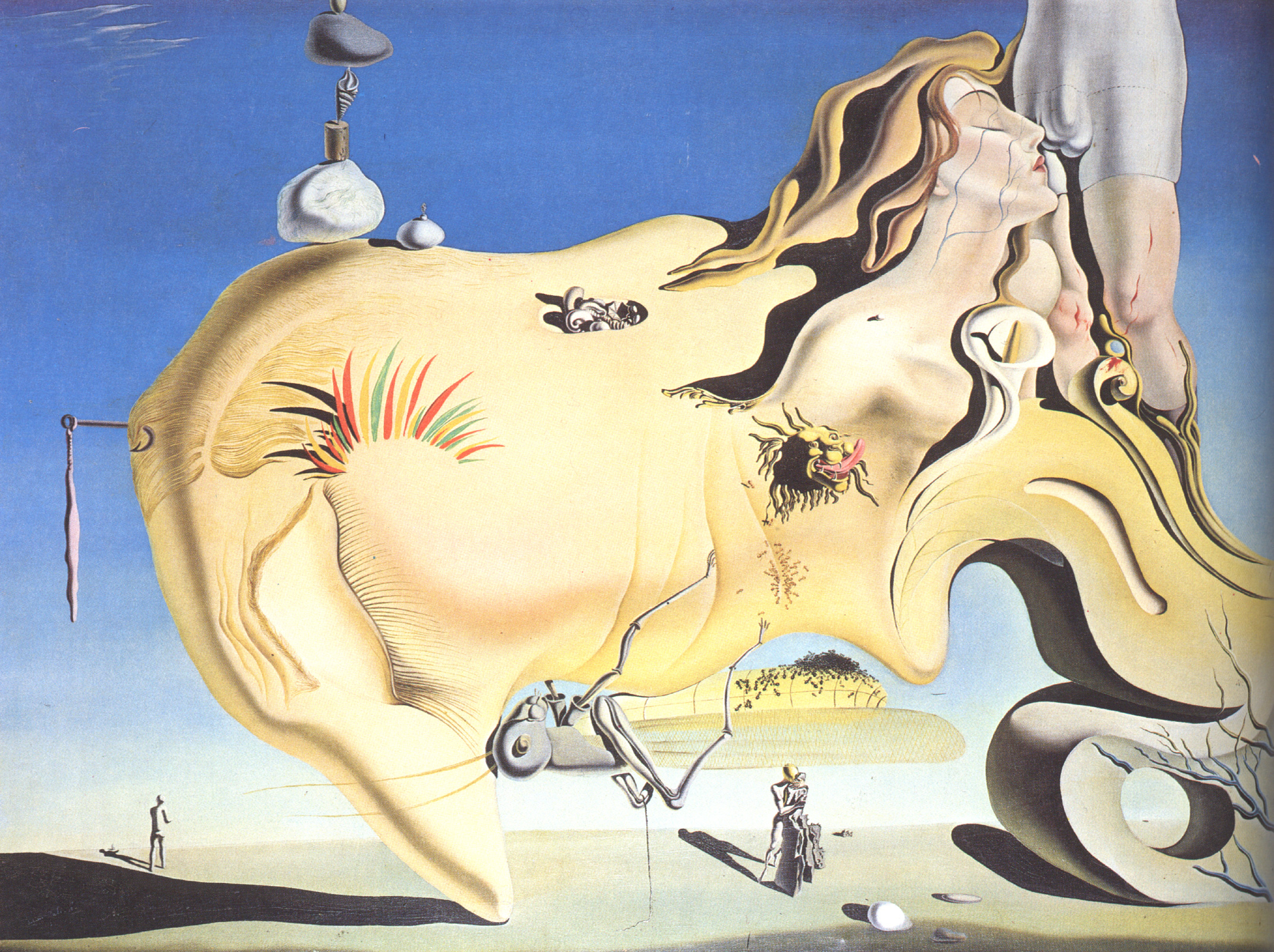 Backgrounds salvador dali painting