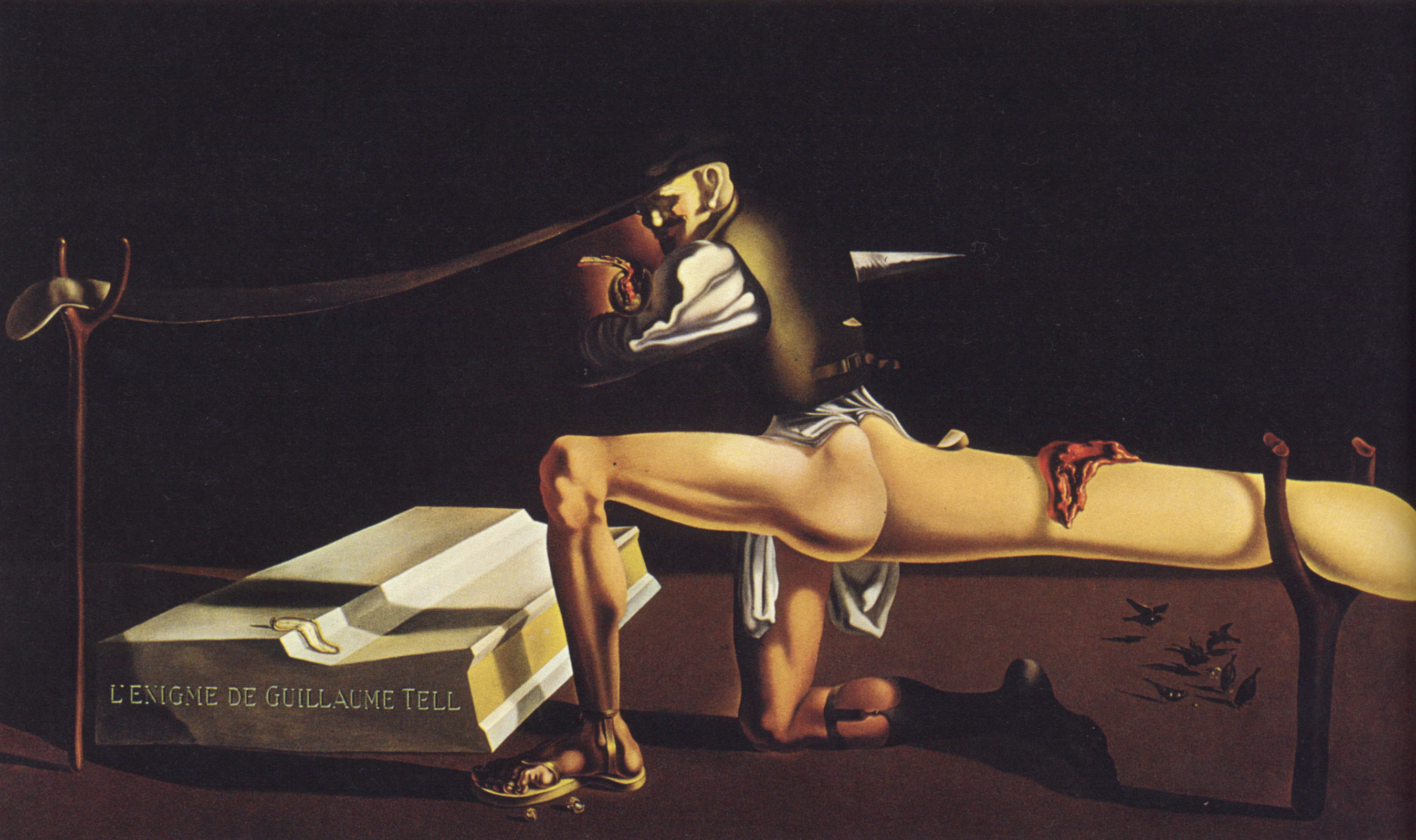 Salvador Dali painting, Androgen, Relationship, Male, Oil, HQ Photo
