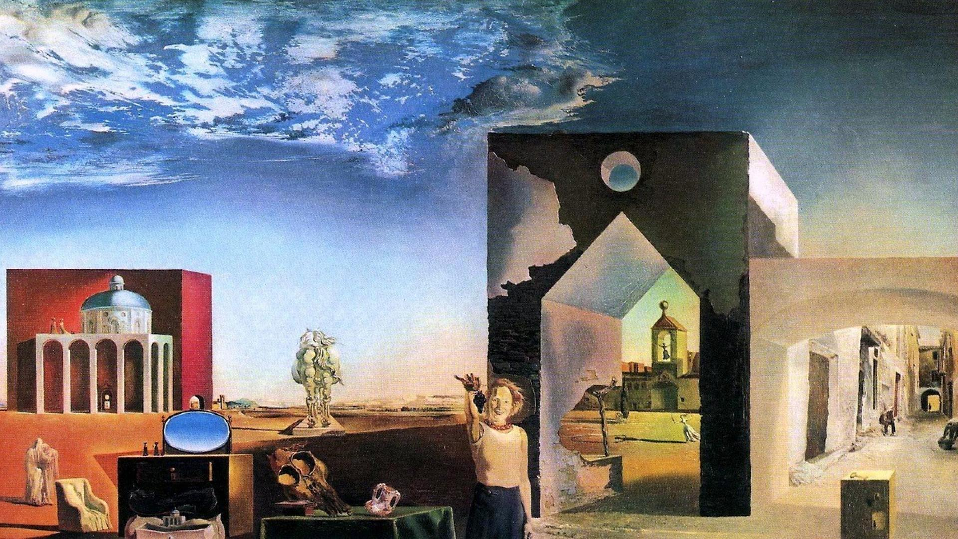 Salvador dali painting photo