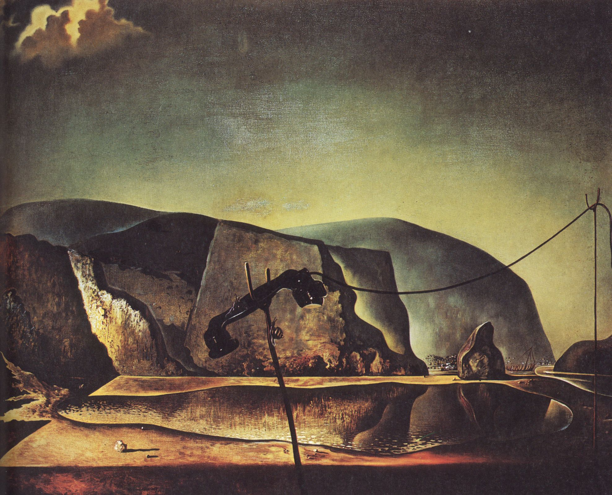 Mountain Lake - Salvador Dali #dali #paintings #art | Dali ...