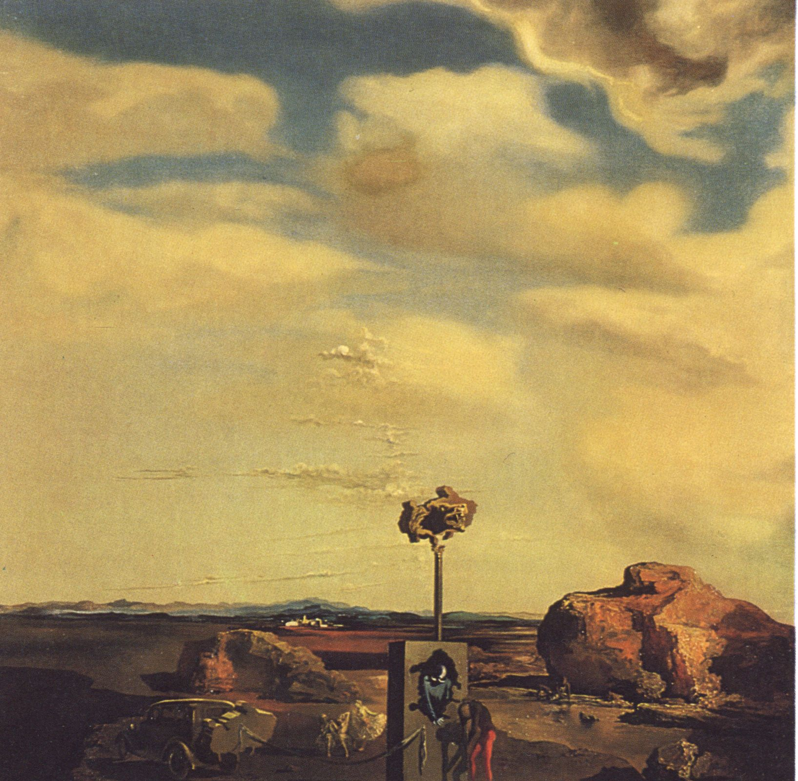 Puzzle of Autumn - Salvador Dali #dali #paintings #art | Dali love ...