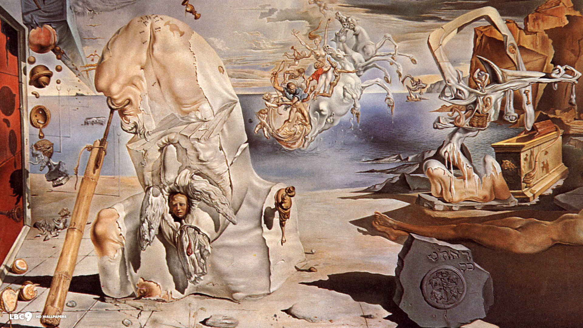 salvador dali wallpaper 1/38 | paintings hd backgrounds