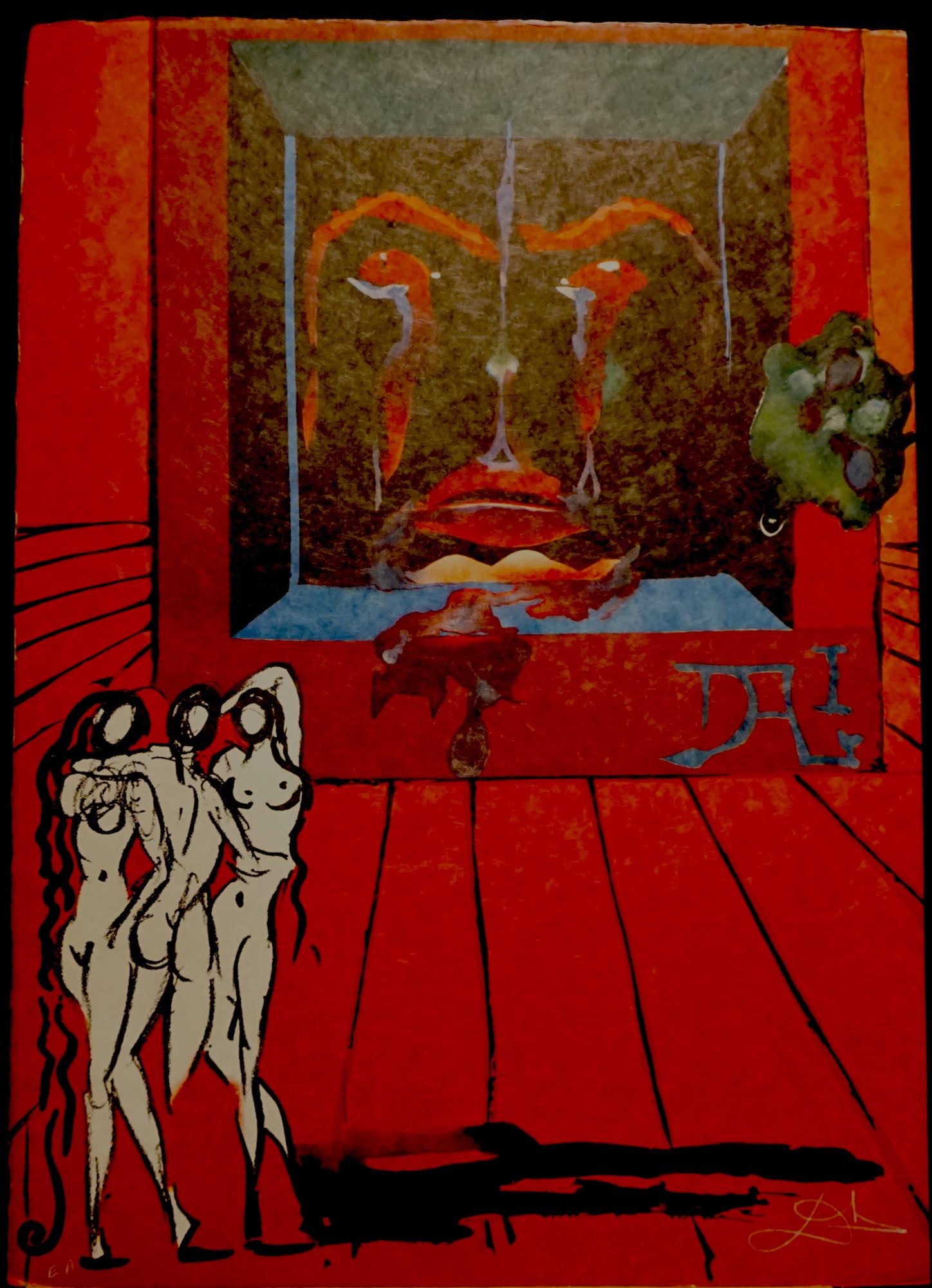 Persistence of Memory Salvador Dali Surrealism Vintage Retro Kraft ...