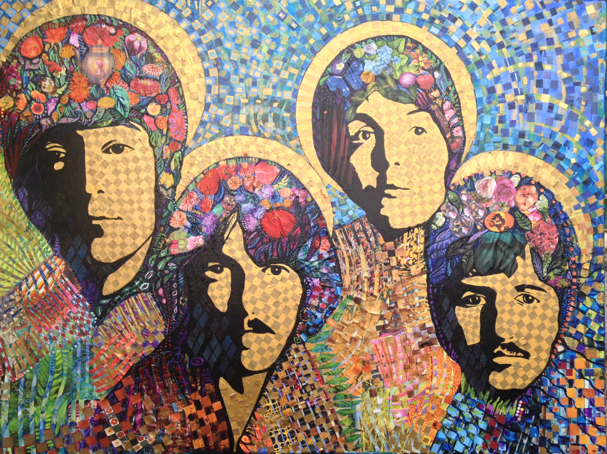 Salvador Dali Collage / Painting | William Wright Art