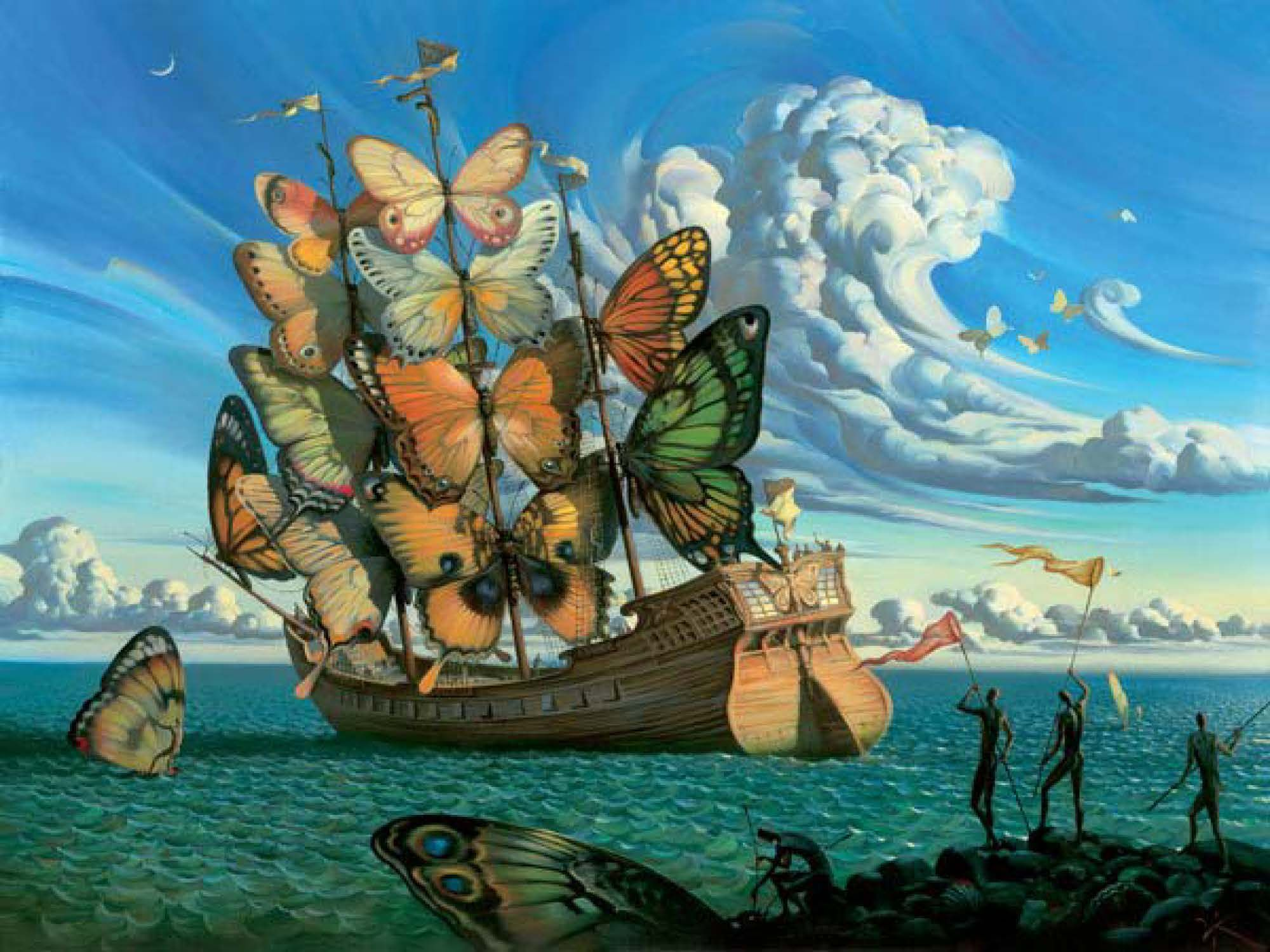 salvador dali paintings - Google Search | Living Paintings Statue ...