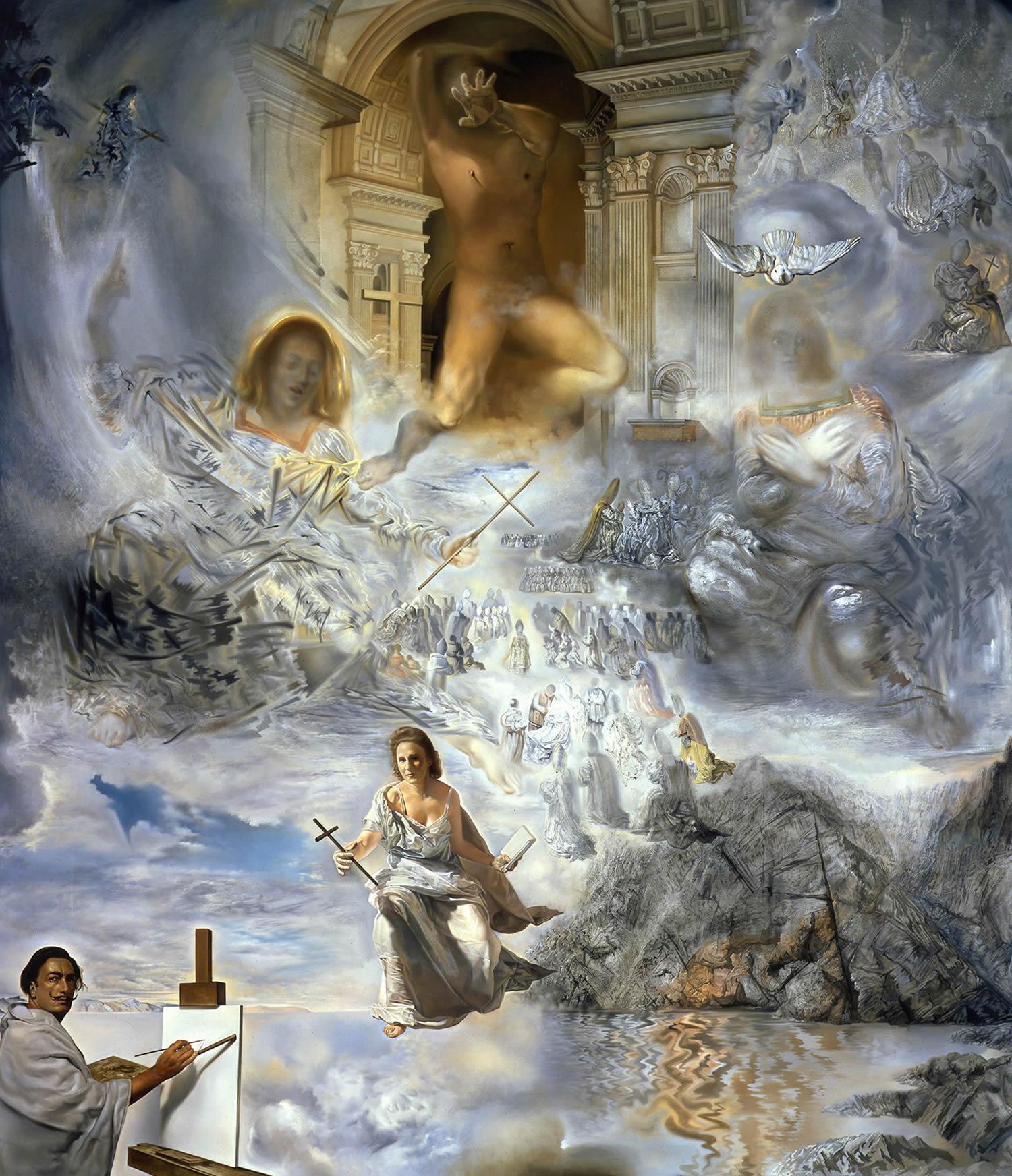 Salvador Dalí - The Ecumenical Council, 1960 | Trivium Art History