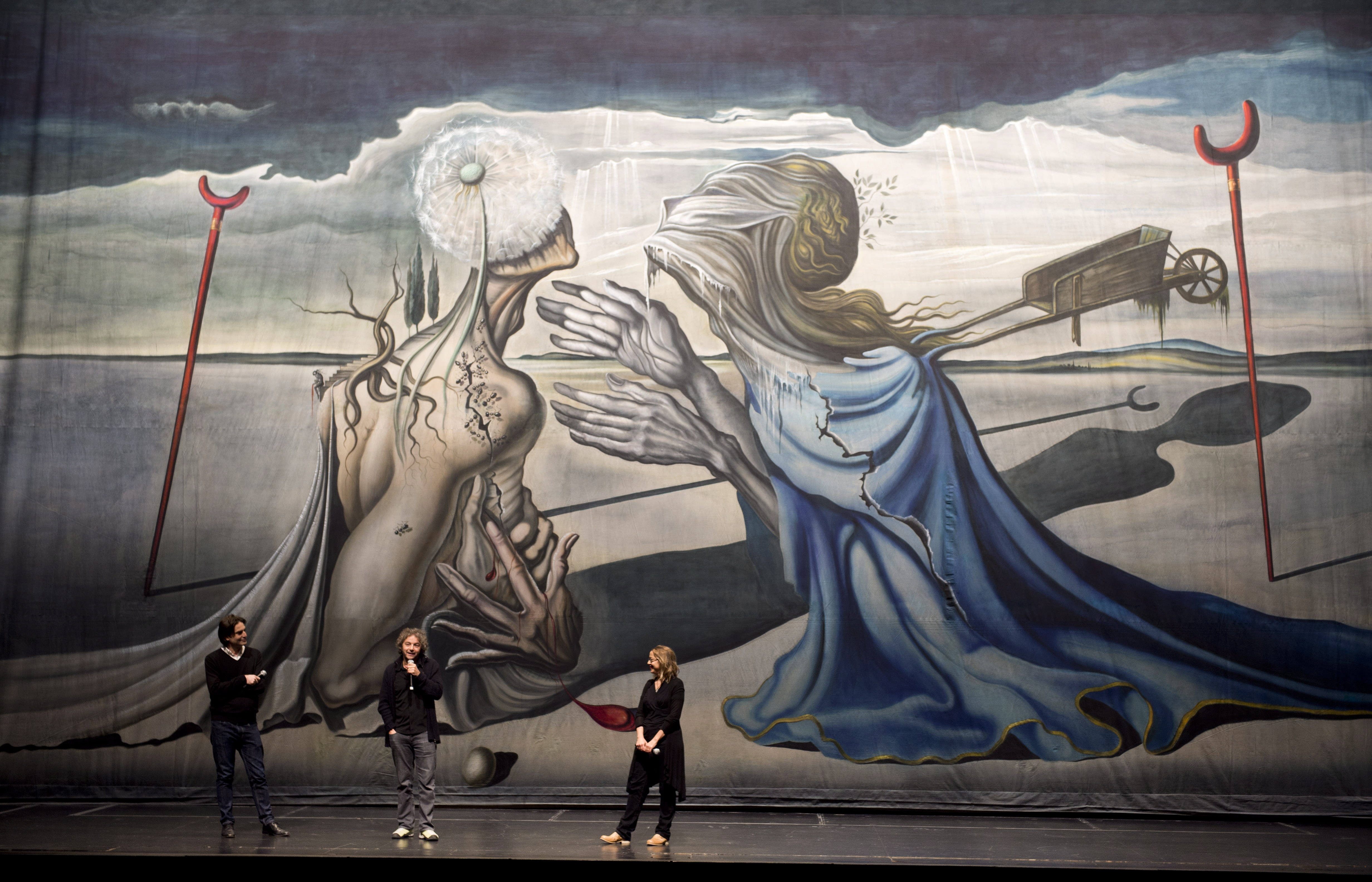 The History Blog » Blog Archive » Long lost Dalí theatrical backdrop ...