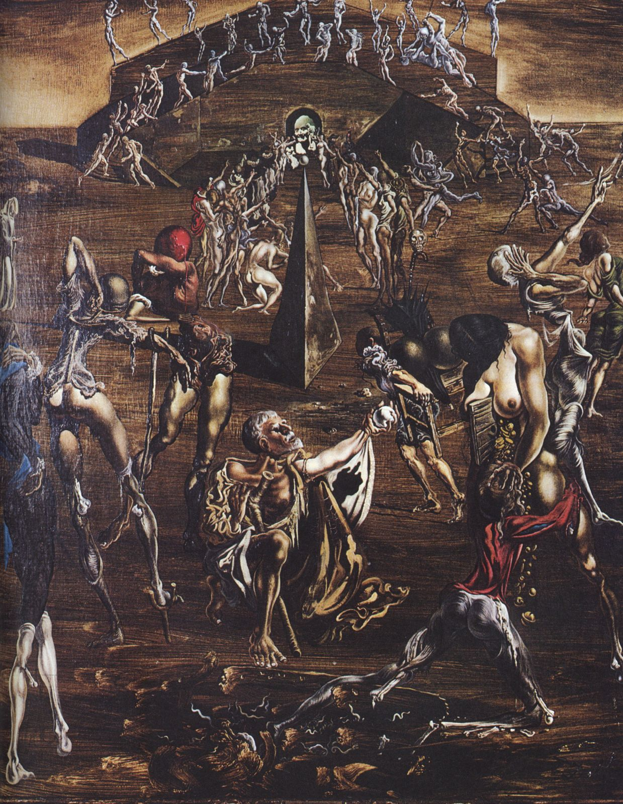 Resurrection of the Flesh - Salvador Dali #dali #paintings #art | Fi ...