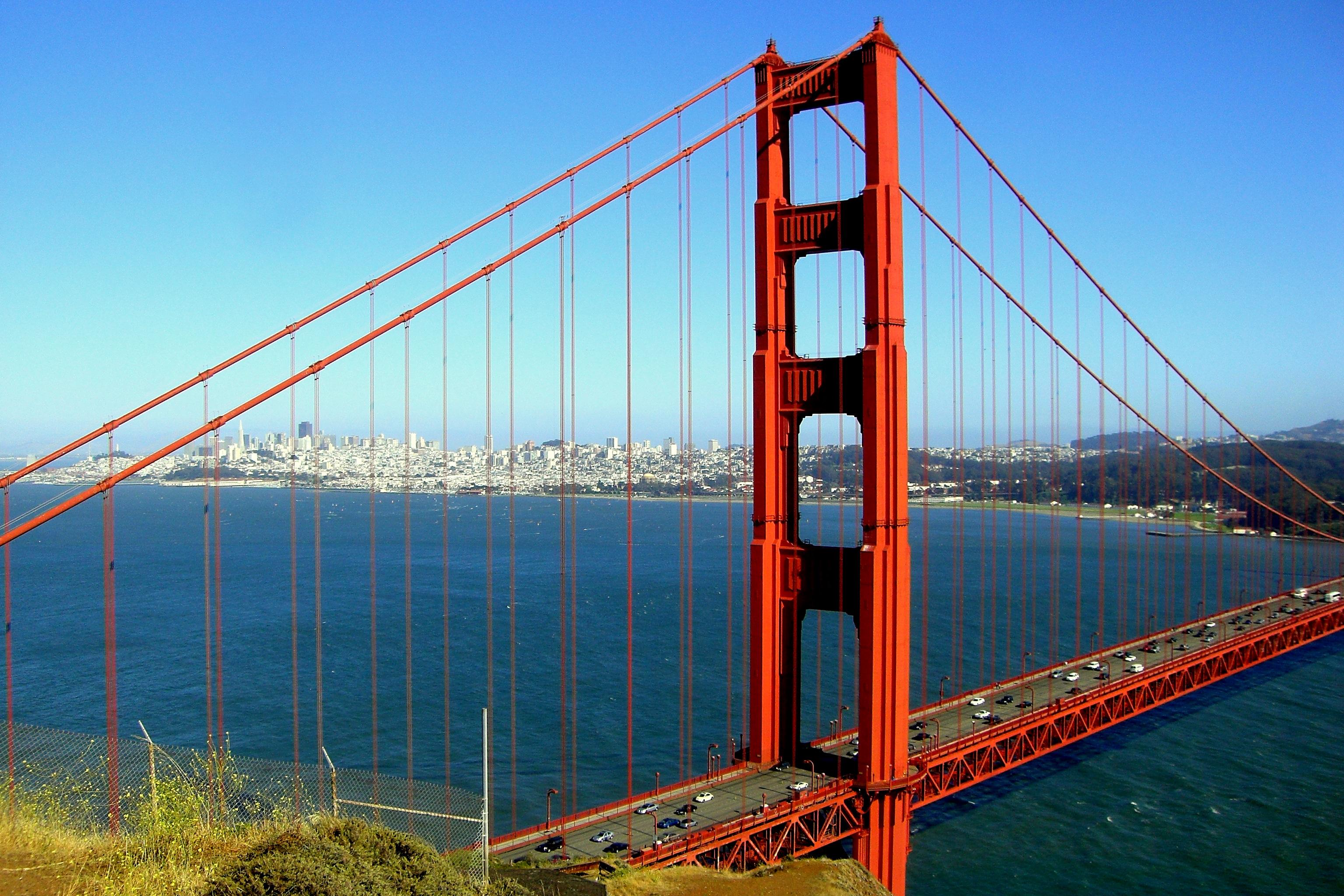 San francisco - golden gate bridge photo