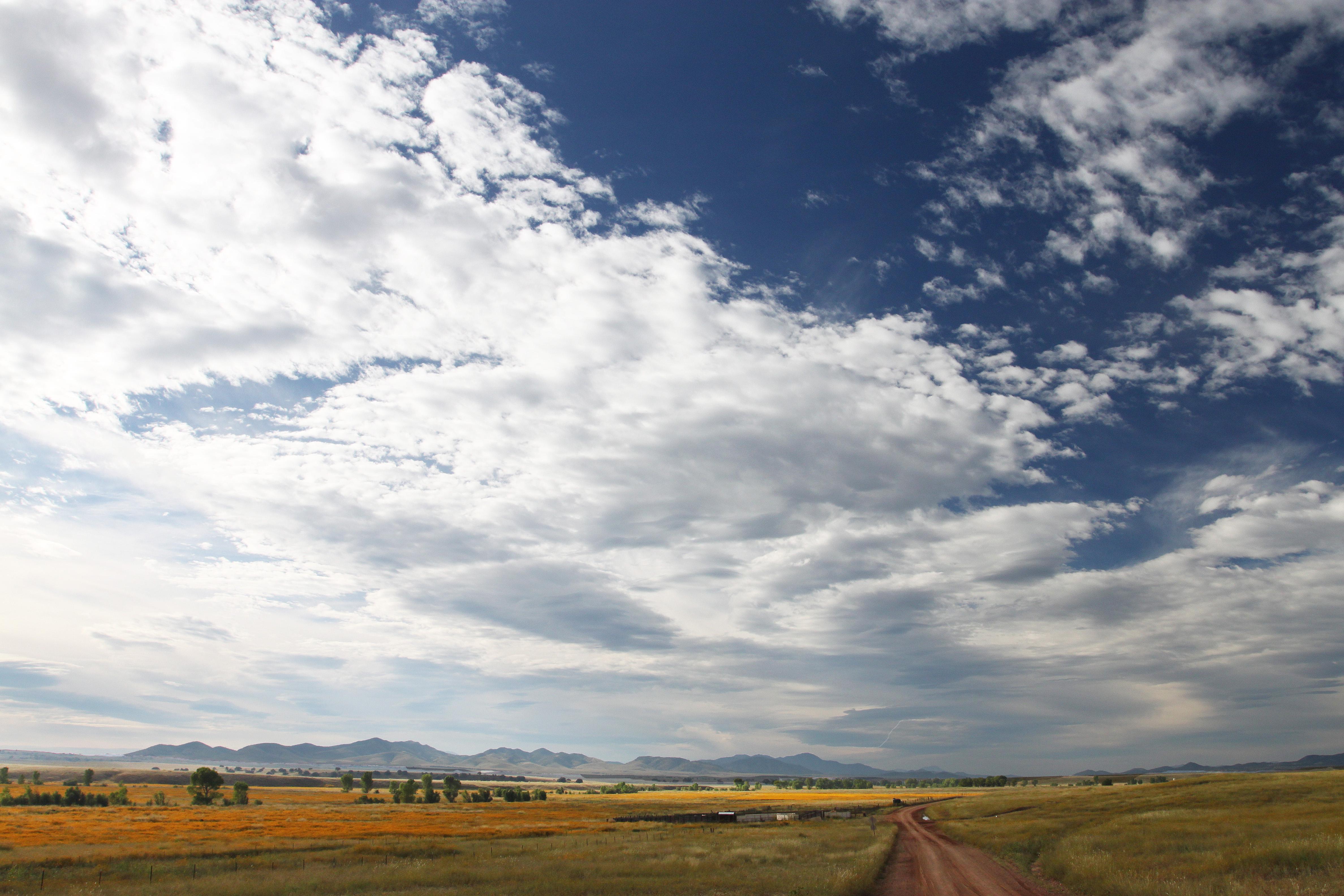 San rafael valley grasslands, se of patagonia, scc, az (9-27-10) - morning light -11 photo