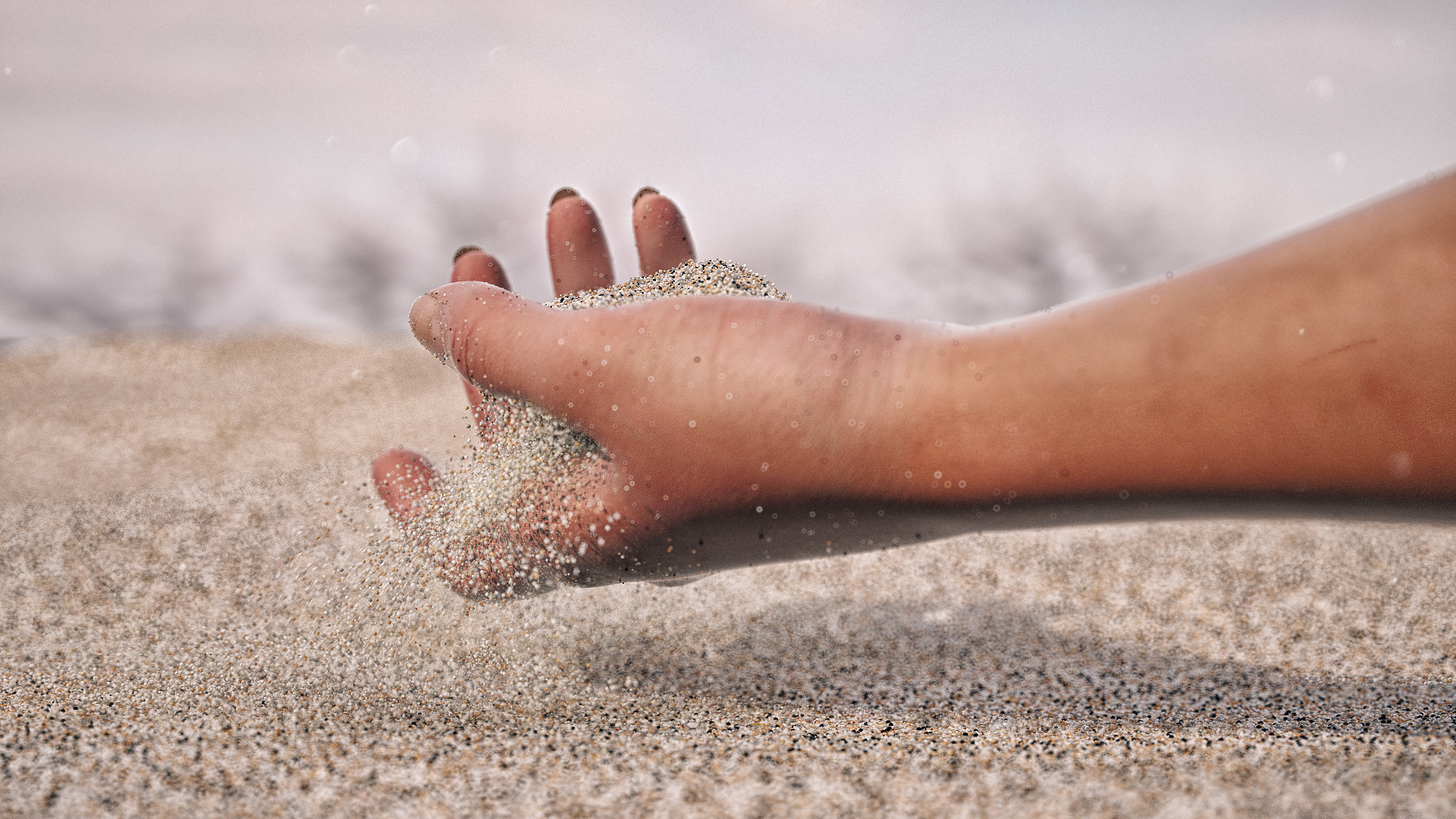 Sand hand by sanfranguy on DeviantArt