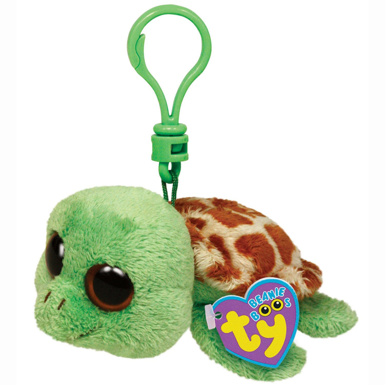Ty Beanie Boos - Sandy the Turtle Clip at ToyStop
