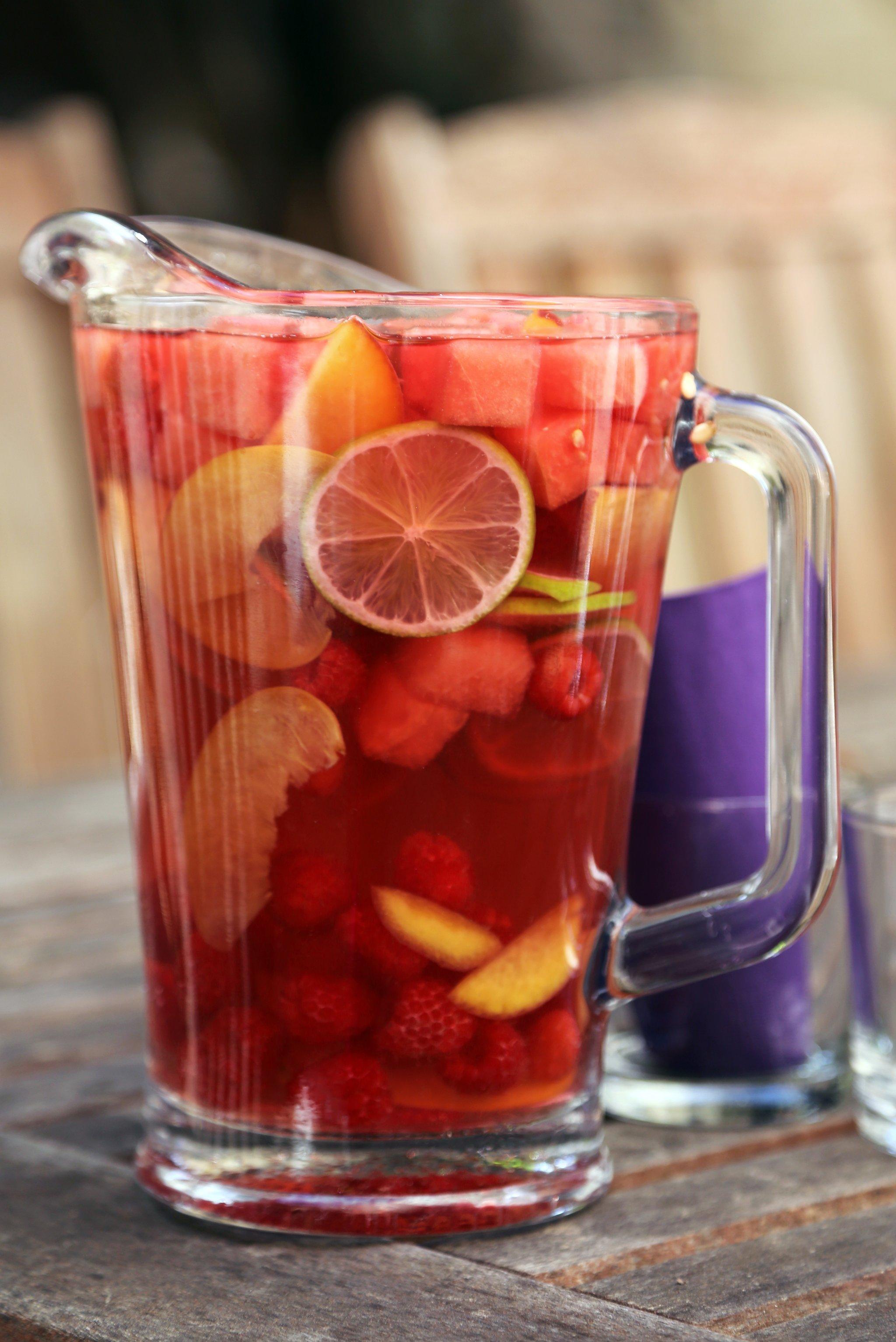 Watermelon Rose Sangria Recipe | POPSUGAR Food