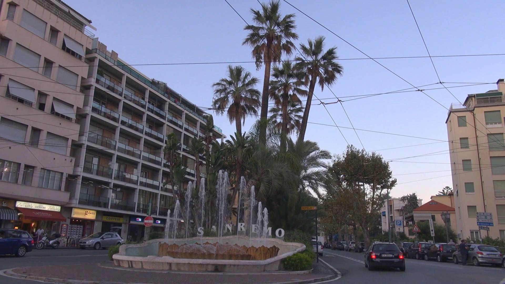 Sanremo old buildings photo