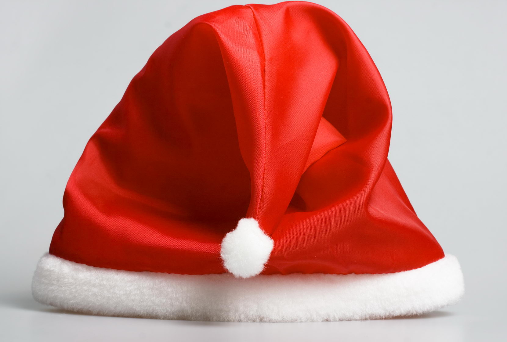 Santa claus red hat photo