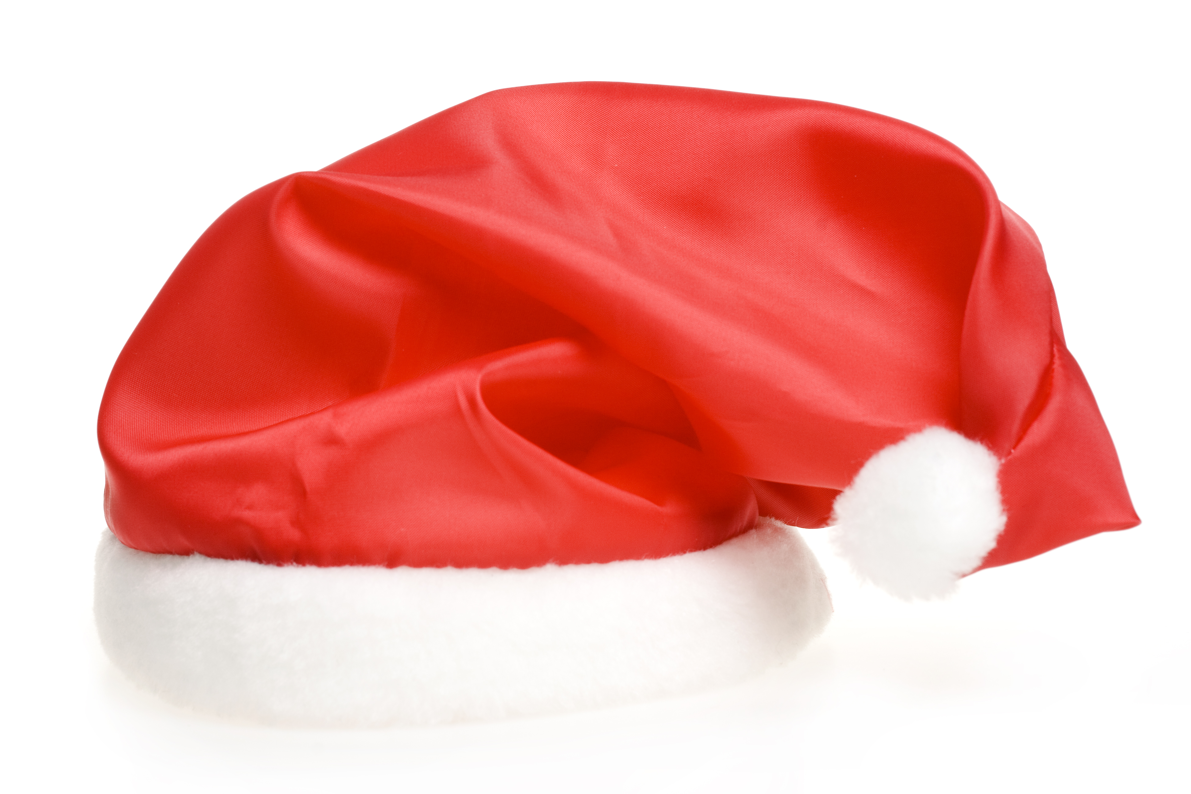 Santa Claus red hat, Accessory, Single, Object, Party, HQ Photo