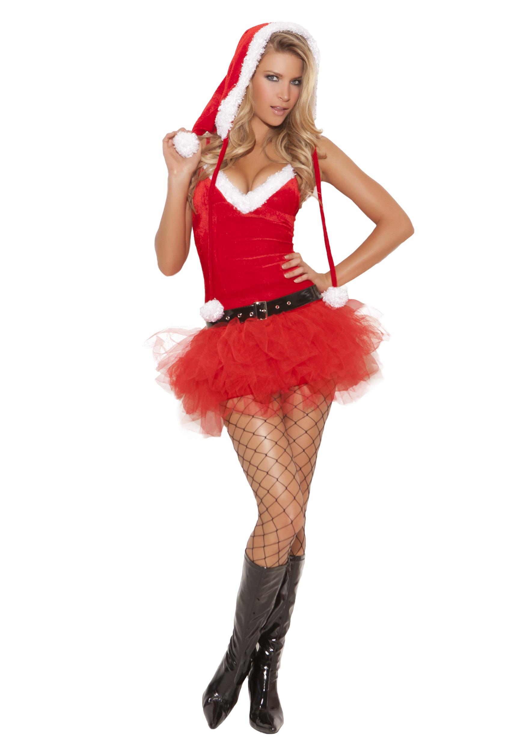 Women's Santa Sweetie Costume