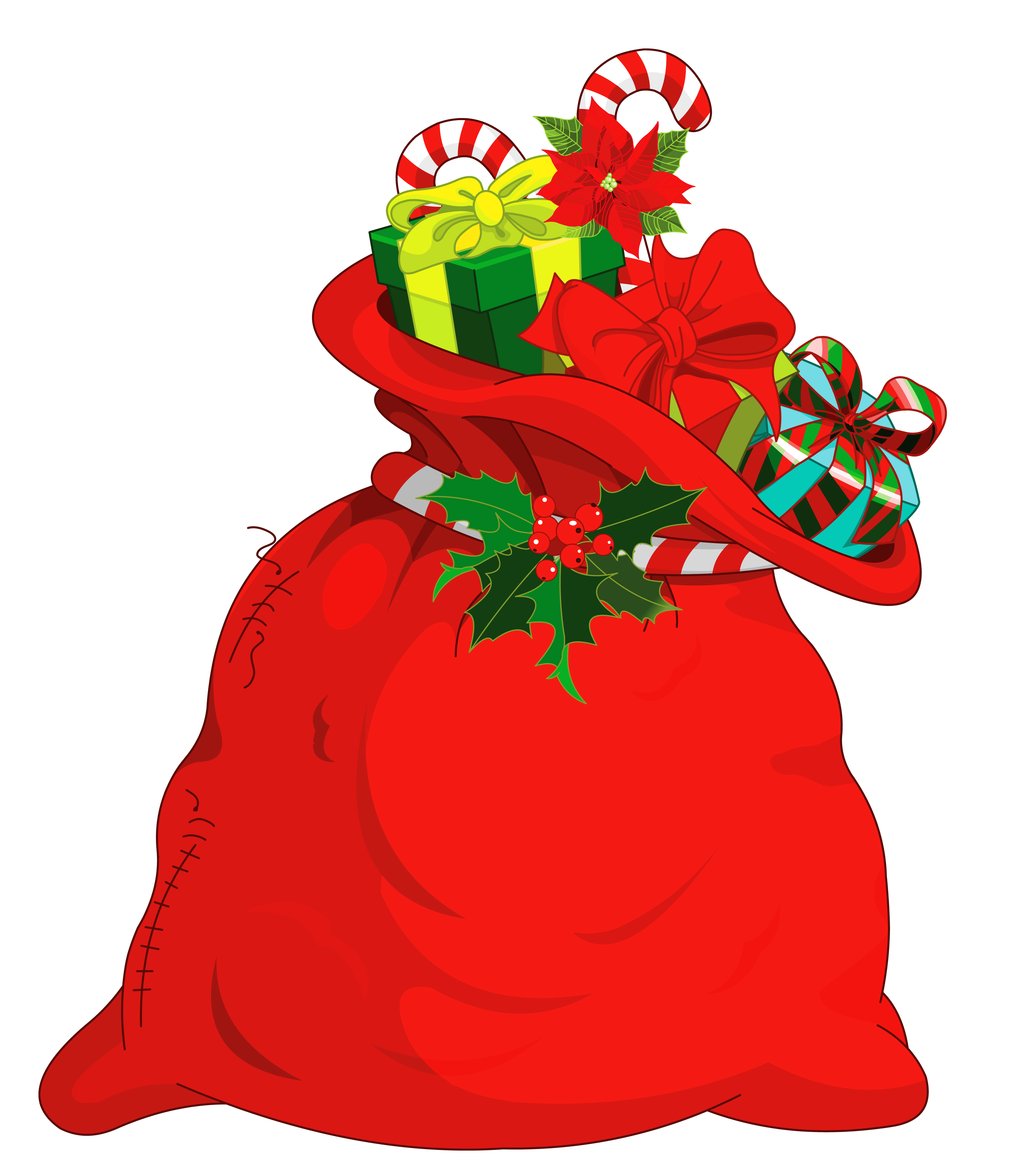 Christmas Santa Bag PNG Picture | Gallery Yopriceville - High ...