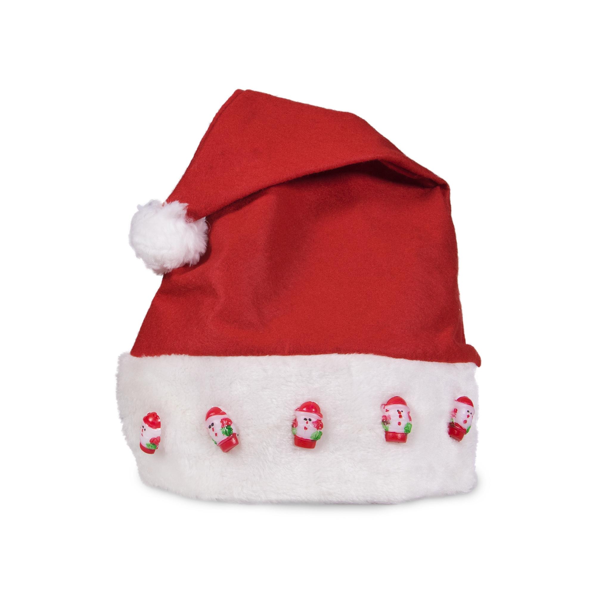 LED Santa Claus Hat