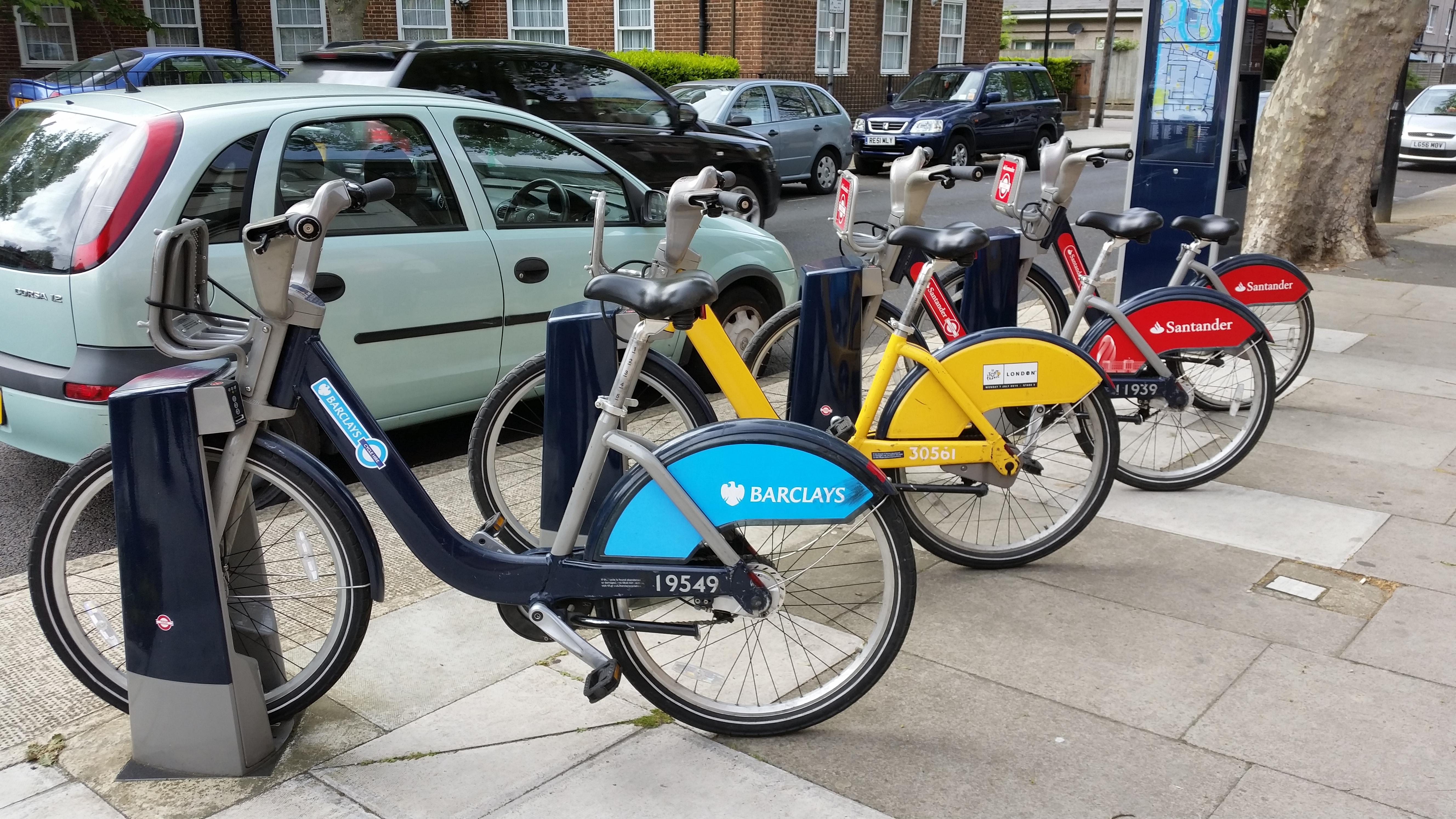 Santander Cycles - Wikiwand
