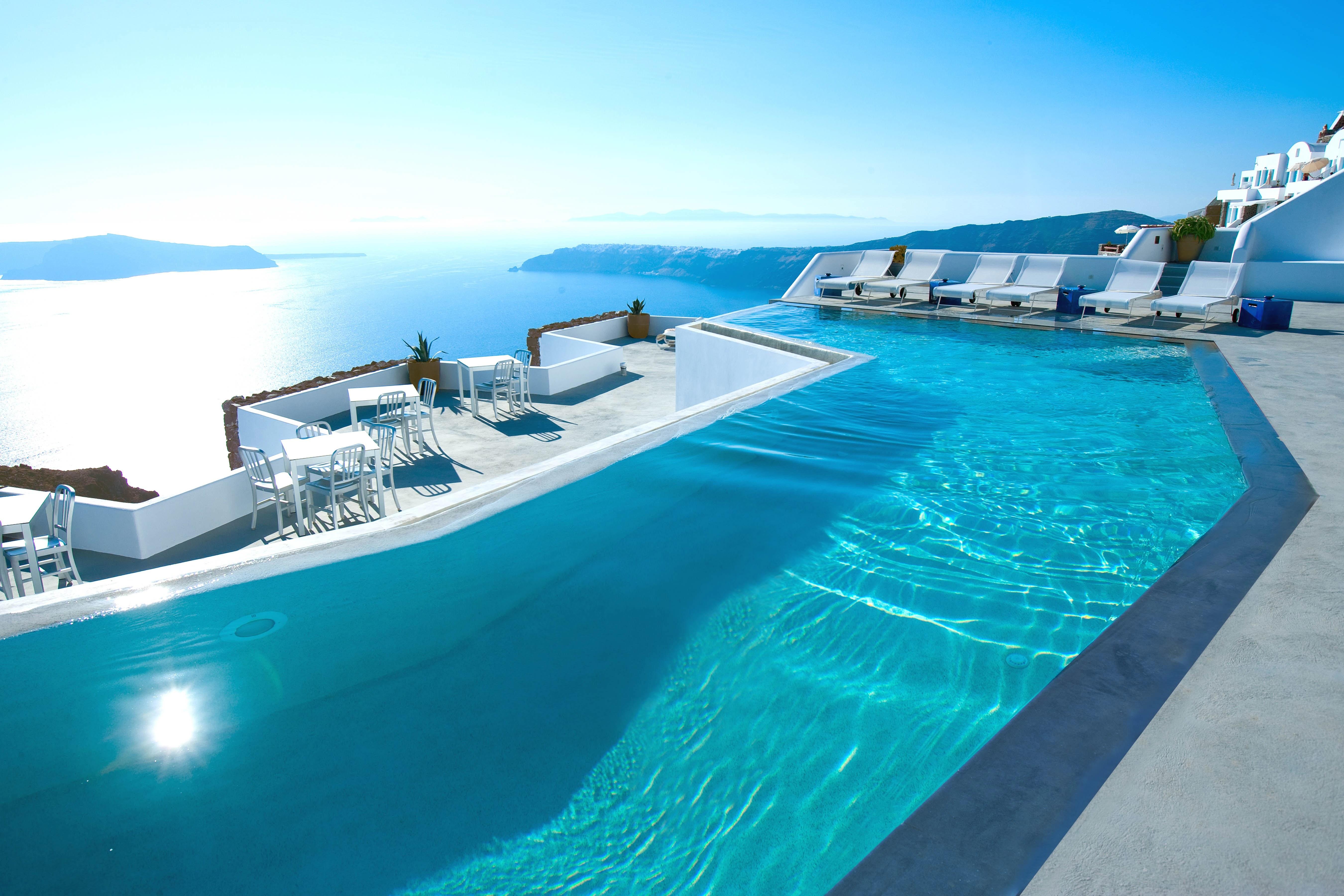 An Exclusive Peek at the Gorgeous Renovation of Santorini's Grace ...