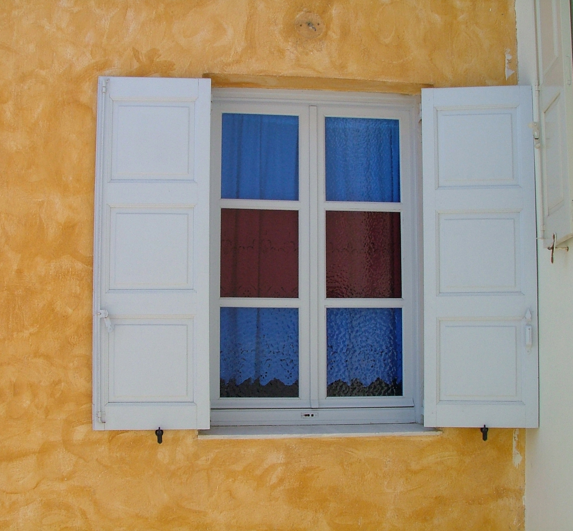 santorini window, Glass, Greece, Open, Santorini, HQ Photo