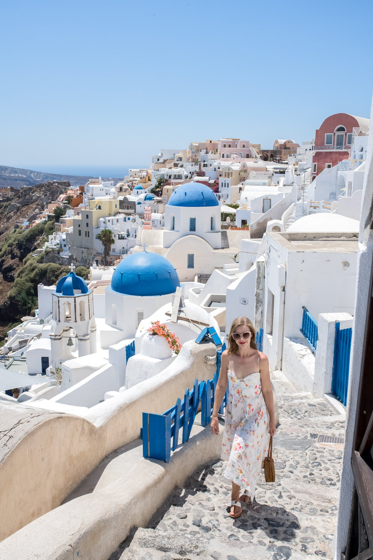 The Greek Isles - Santorini - STACIE FLINNER