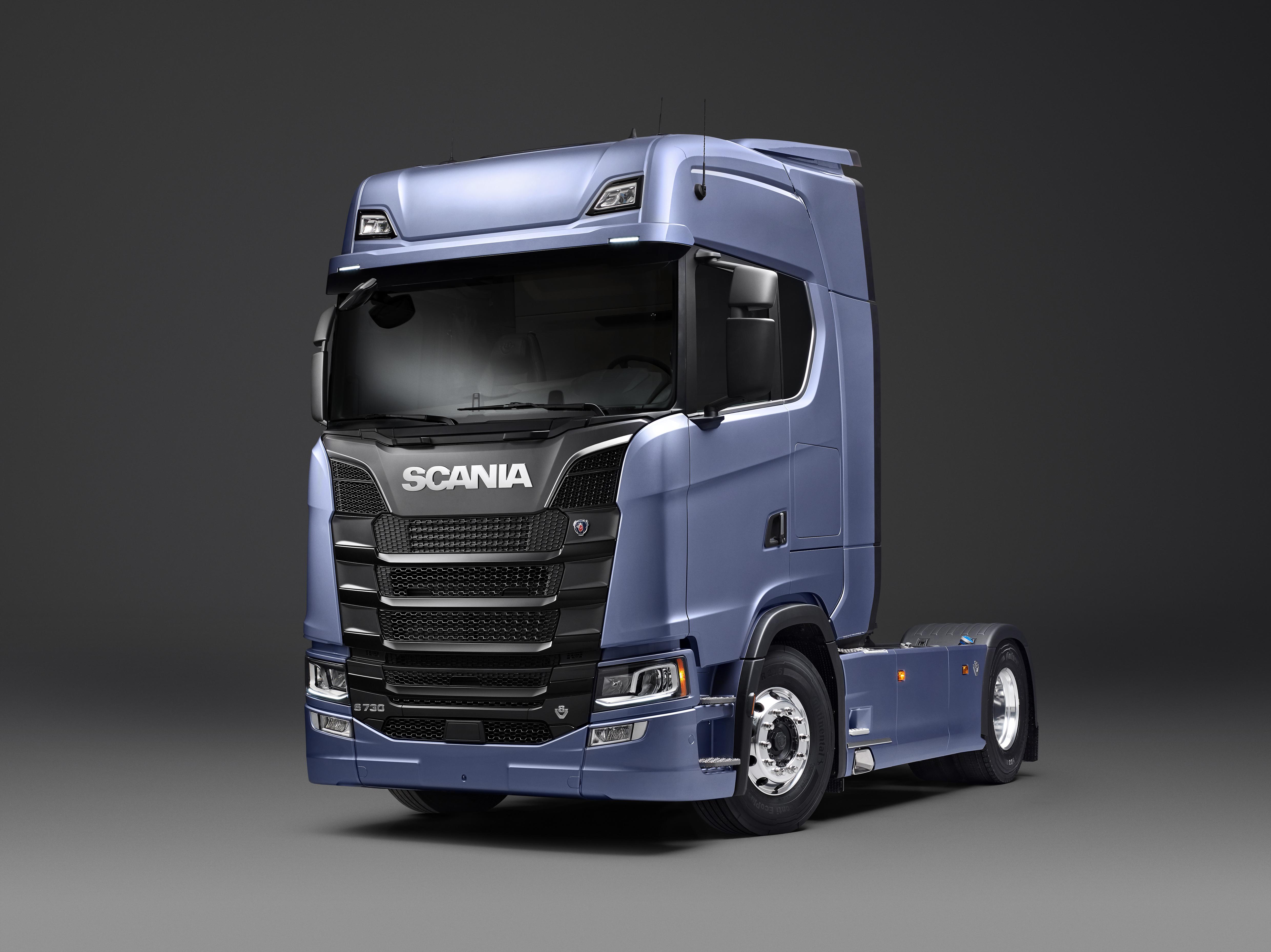 Scania truck photo