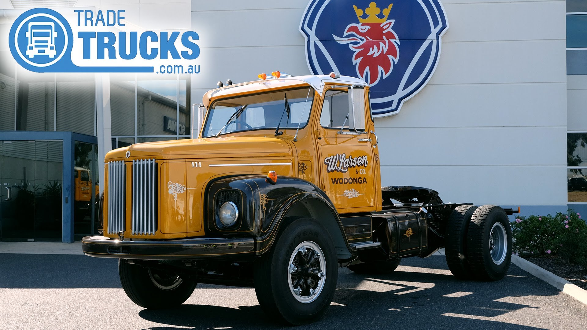 Classic 1976 Scania Truck Restored and Reunited | Used Truck | Truck ...