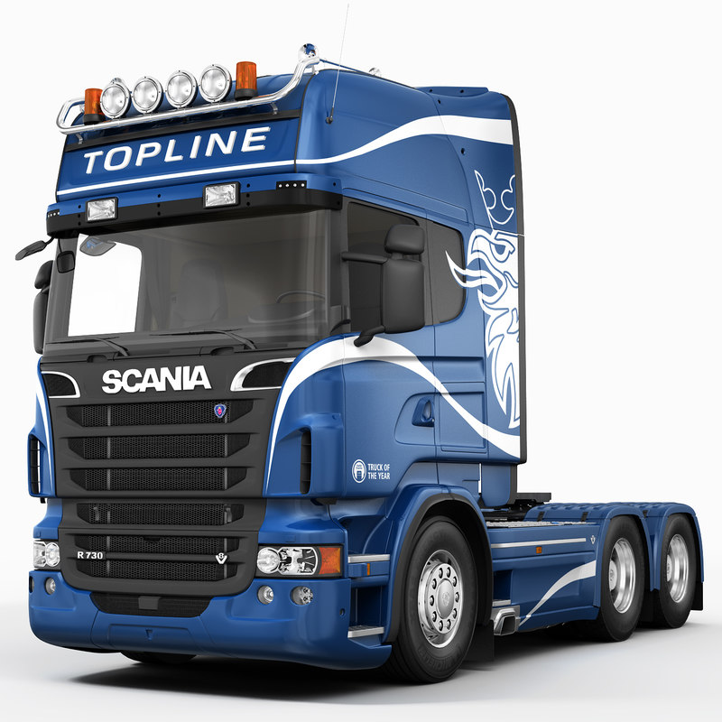 3d leather seat scania truck