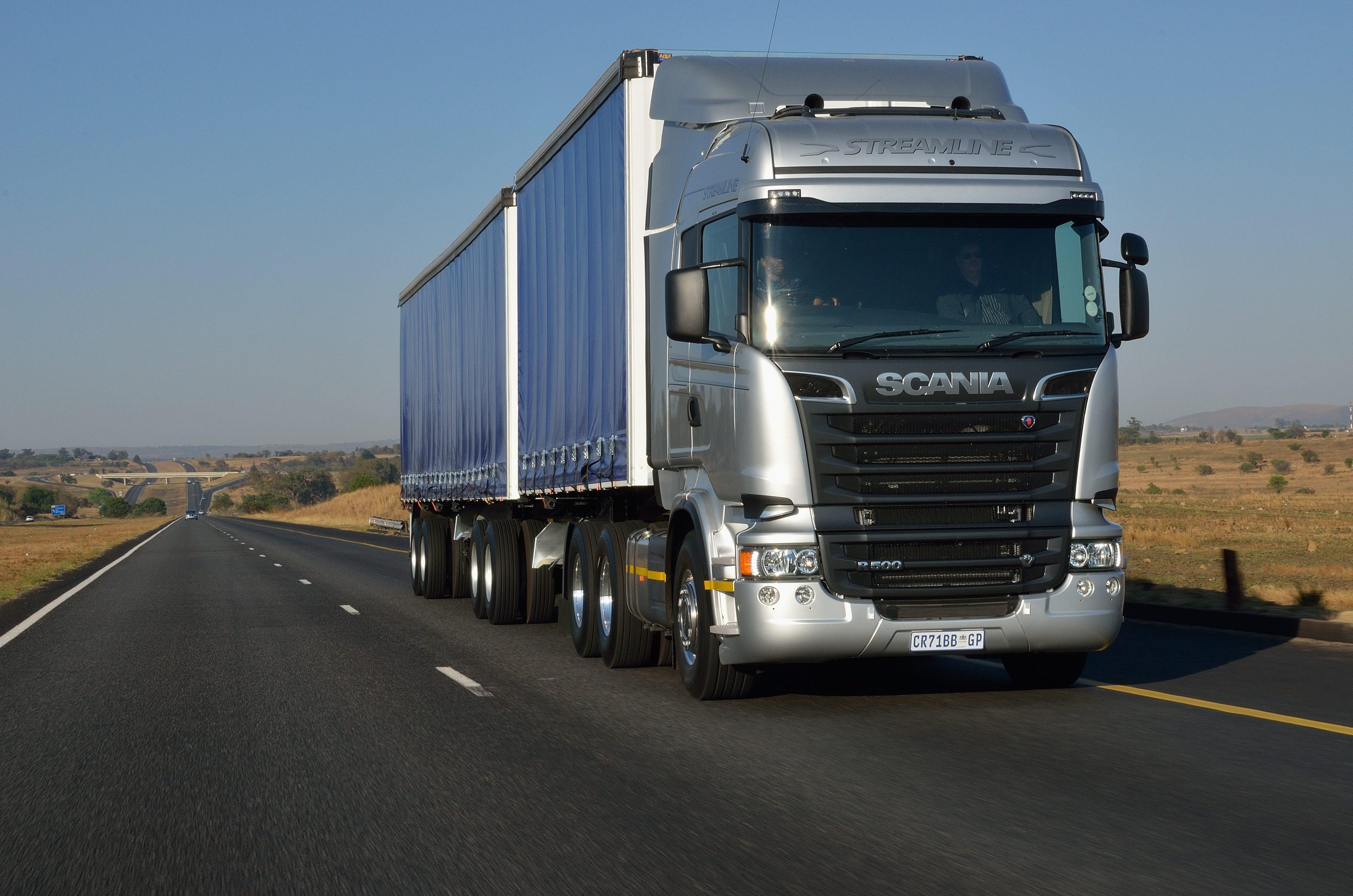 Scania truck - SKF