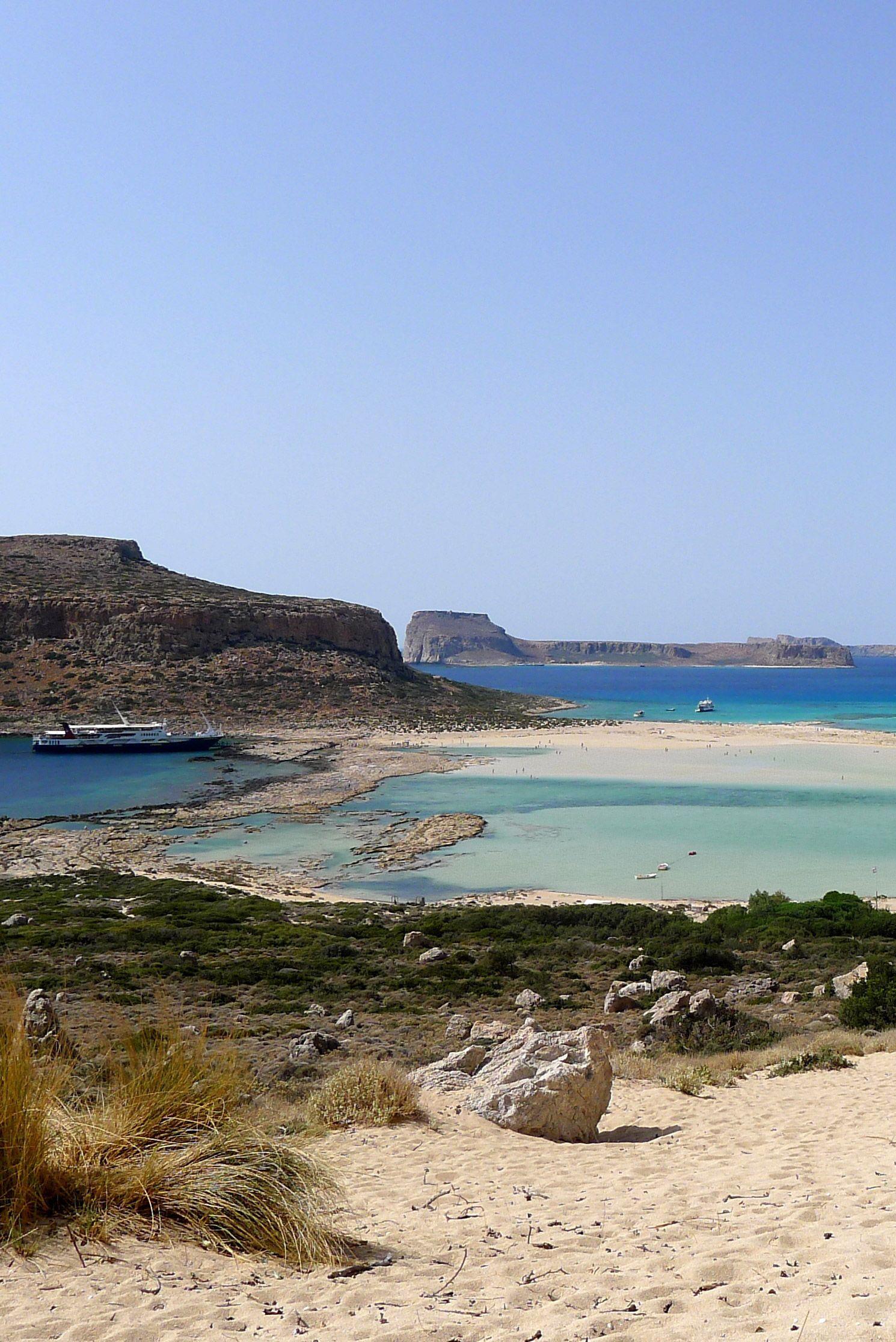 Balos Lagoon in Kissamos, Chania #crete #travel #inspiration   Beach ...