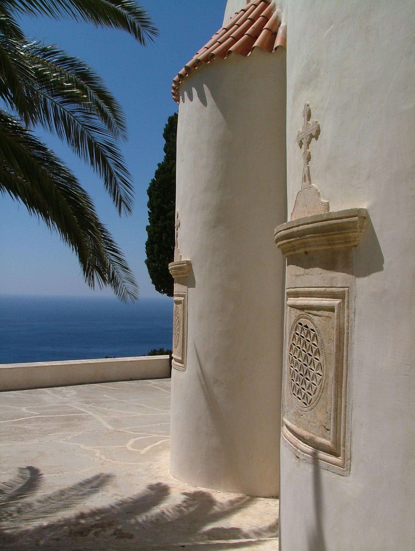 Scenes from crete, Building, Church, Crete, Palms, HQ Photo