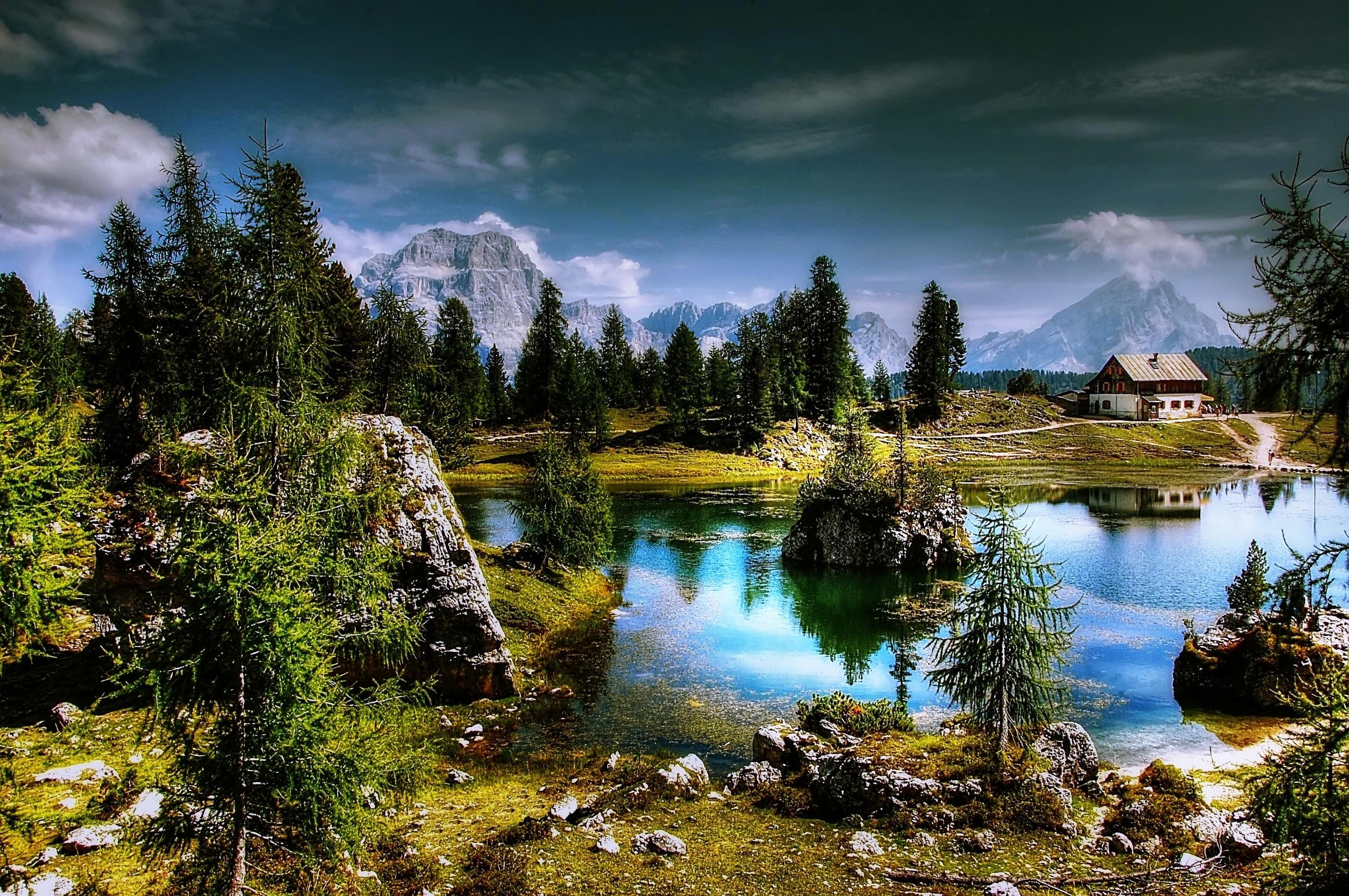 Scenic lago federa photo