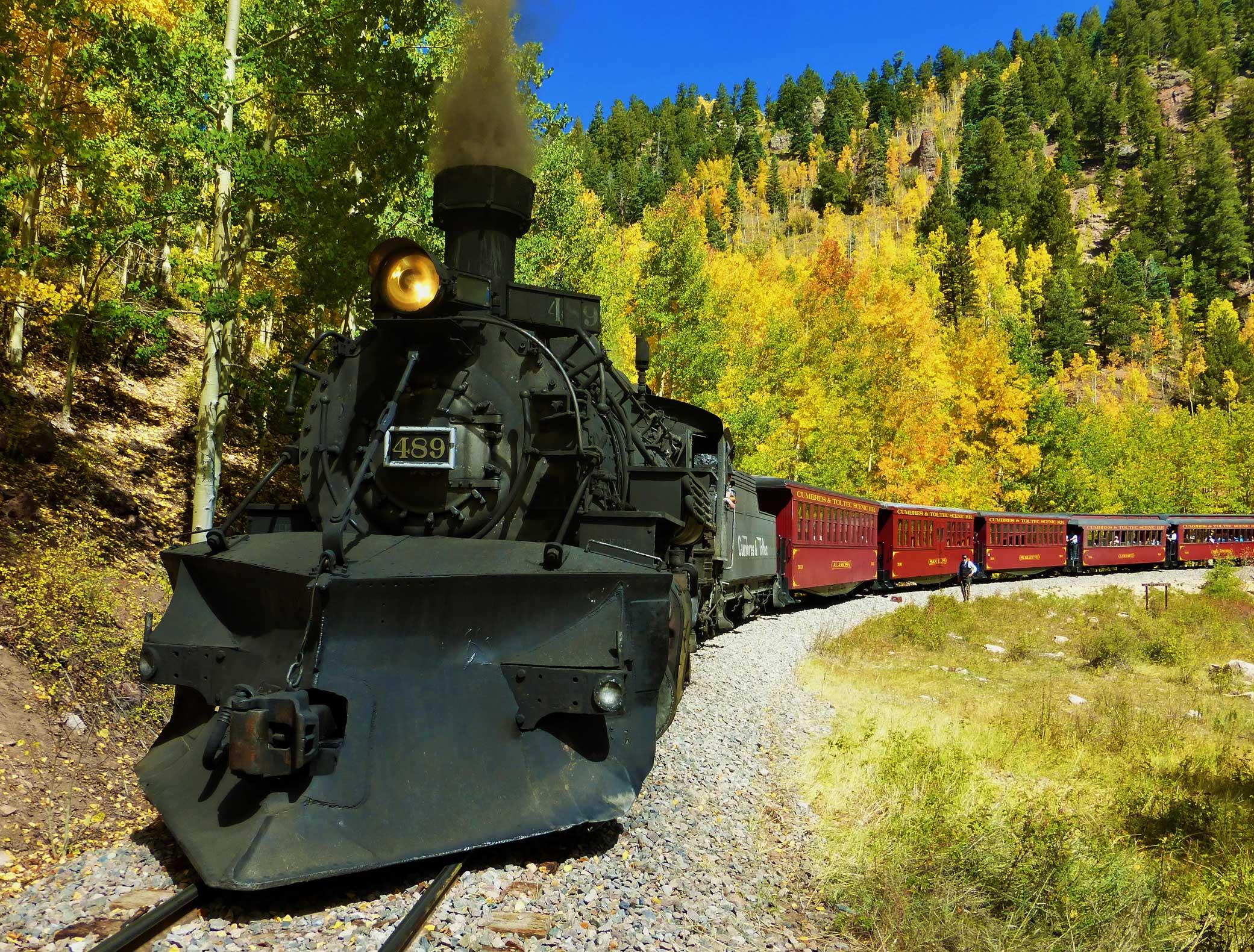 Scenic railroad photo