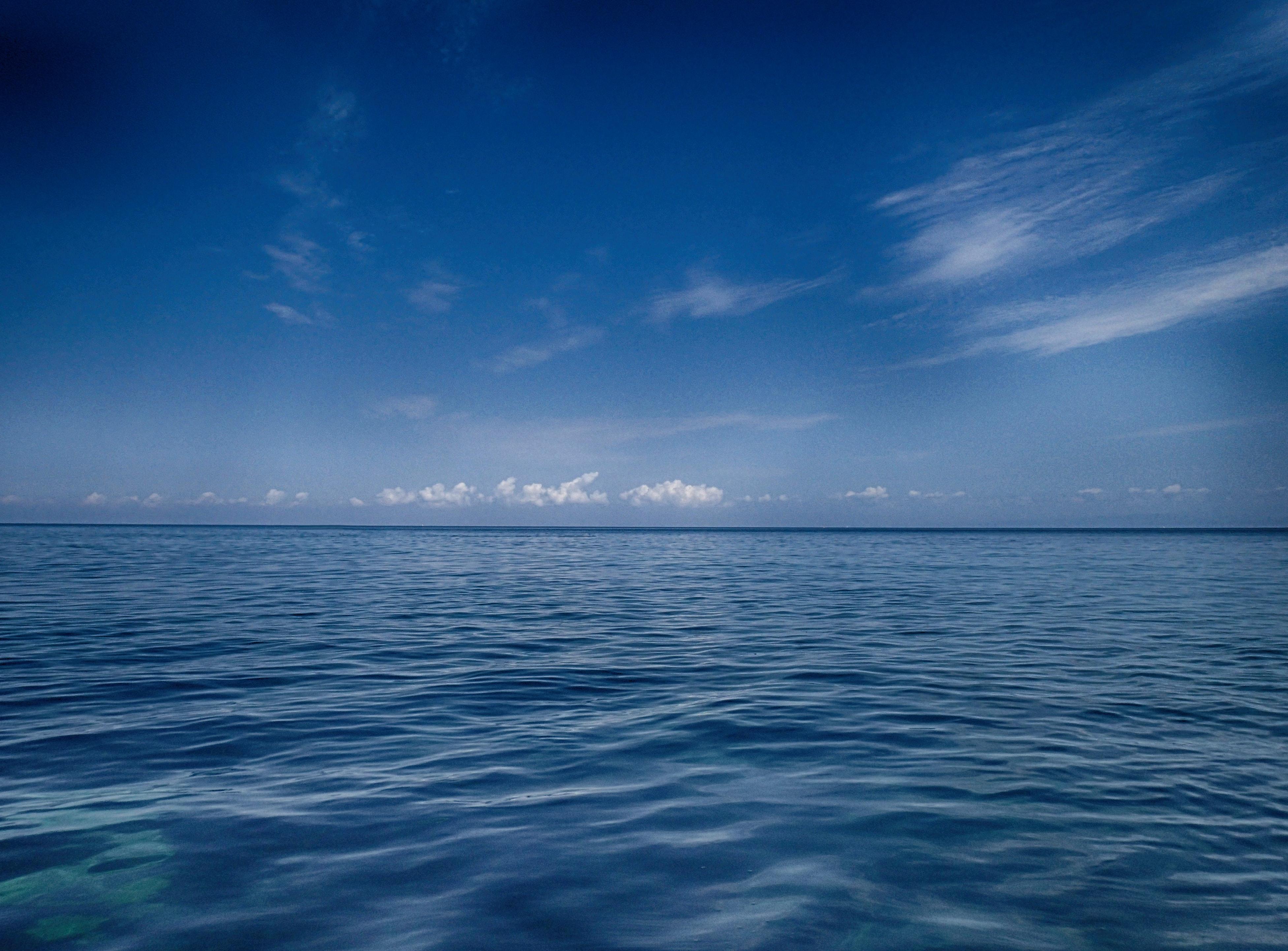 Scenic view of the sea photo