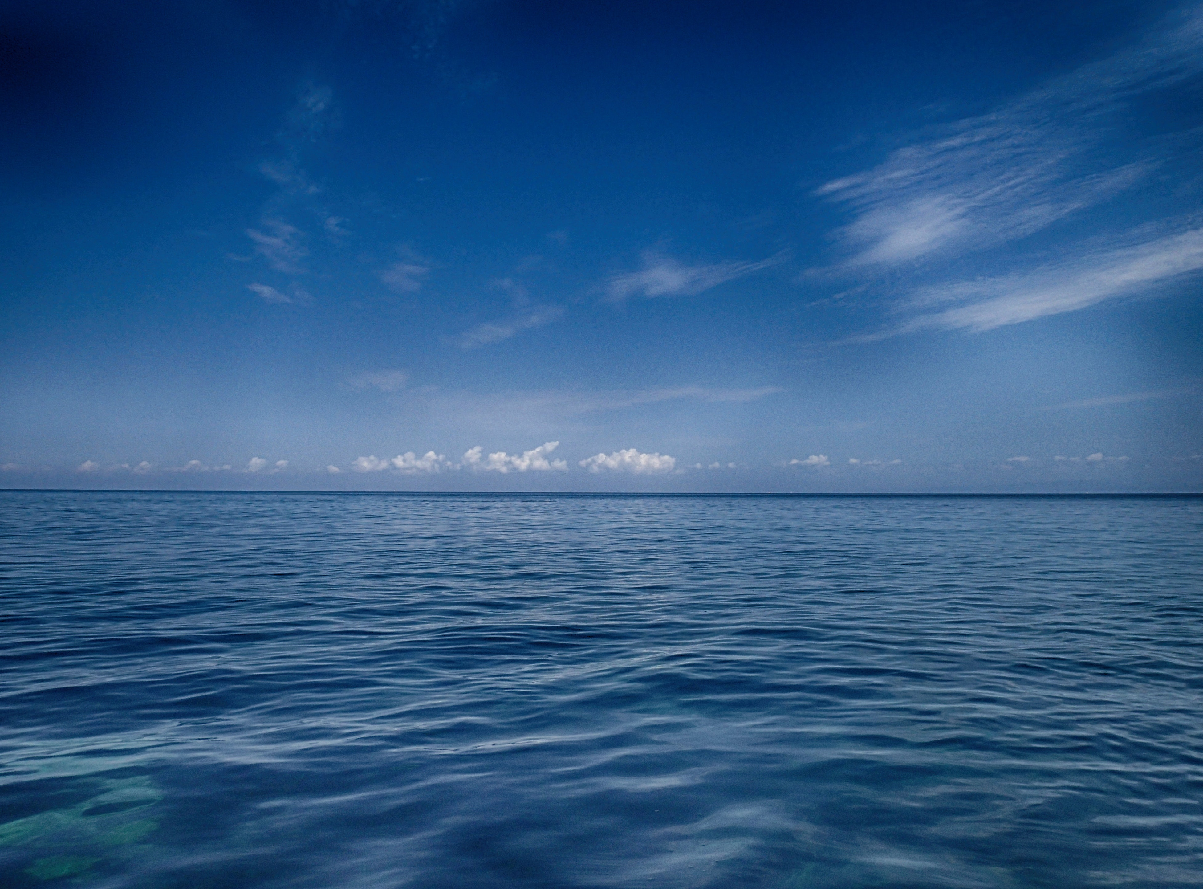 Scenic View of the Sea, Beach, Sea, Water, Vacation, HQ Photo