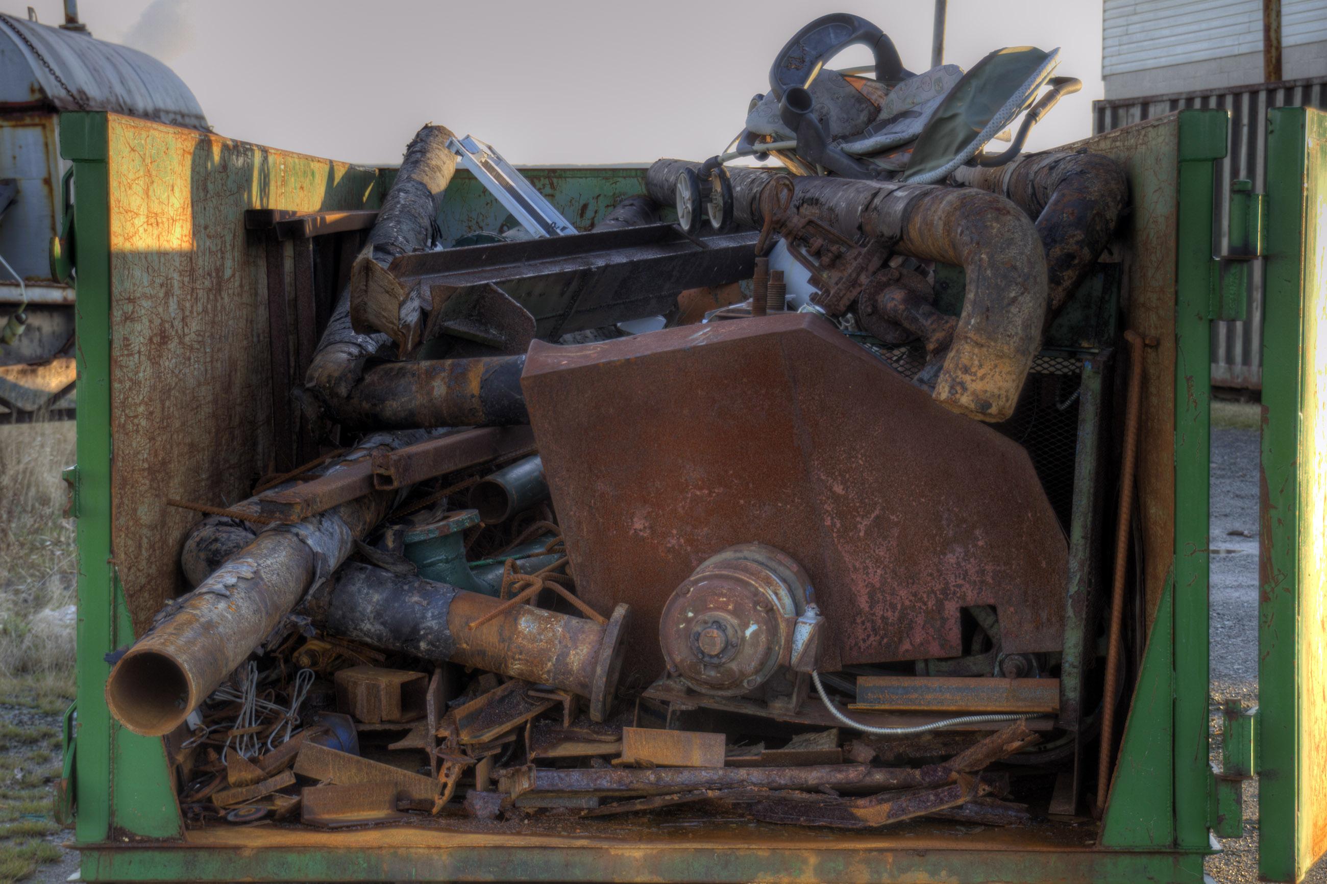 Scrap metal photo