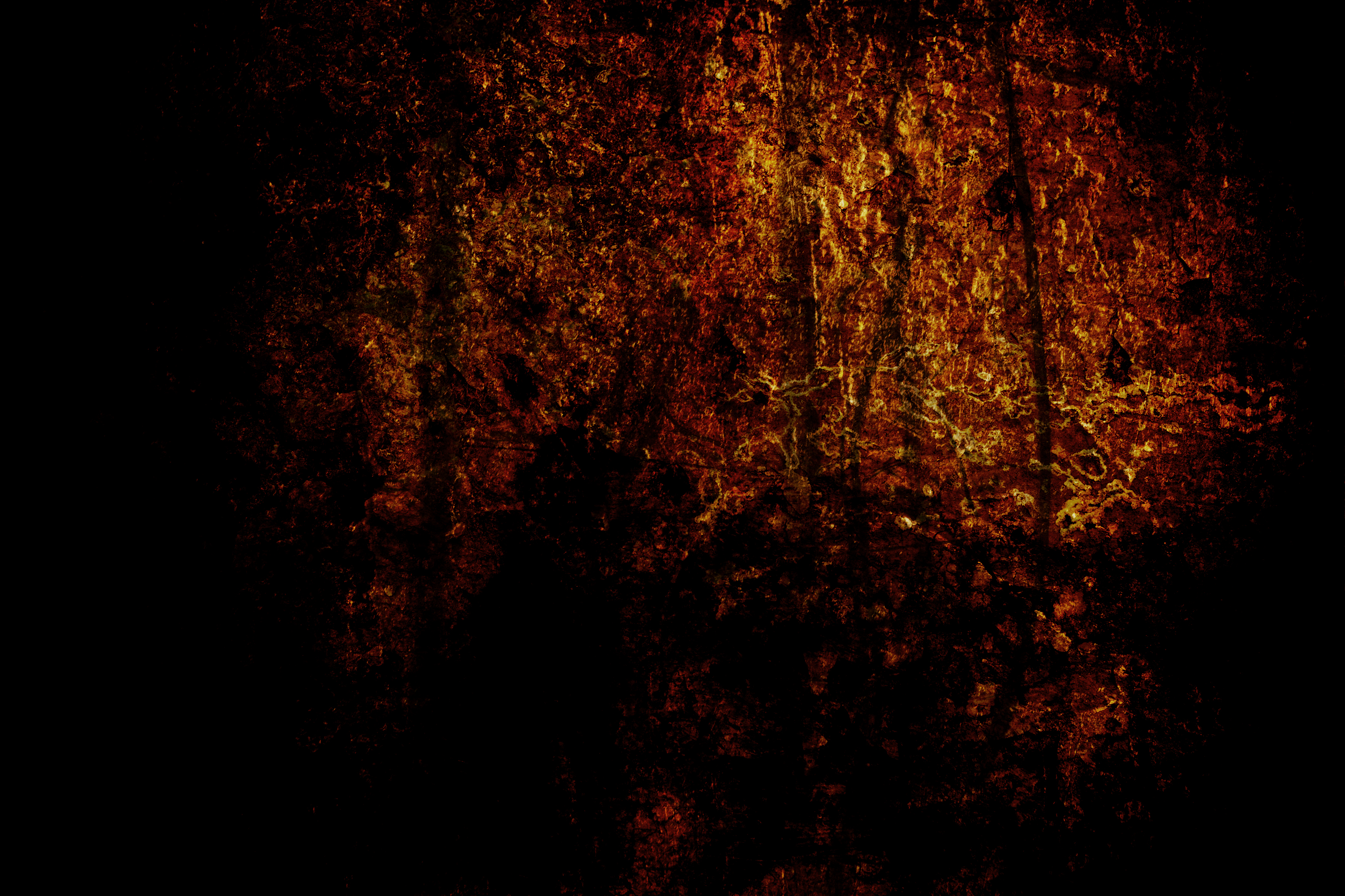 Scratched Grunge Texture, Black, Brown, Damaged, Dark, HQ Photo