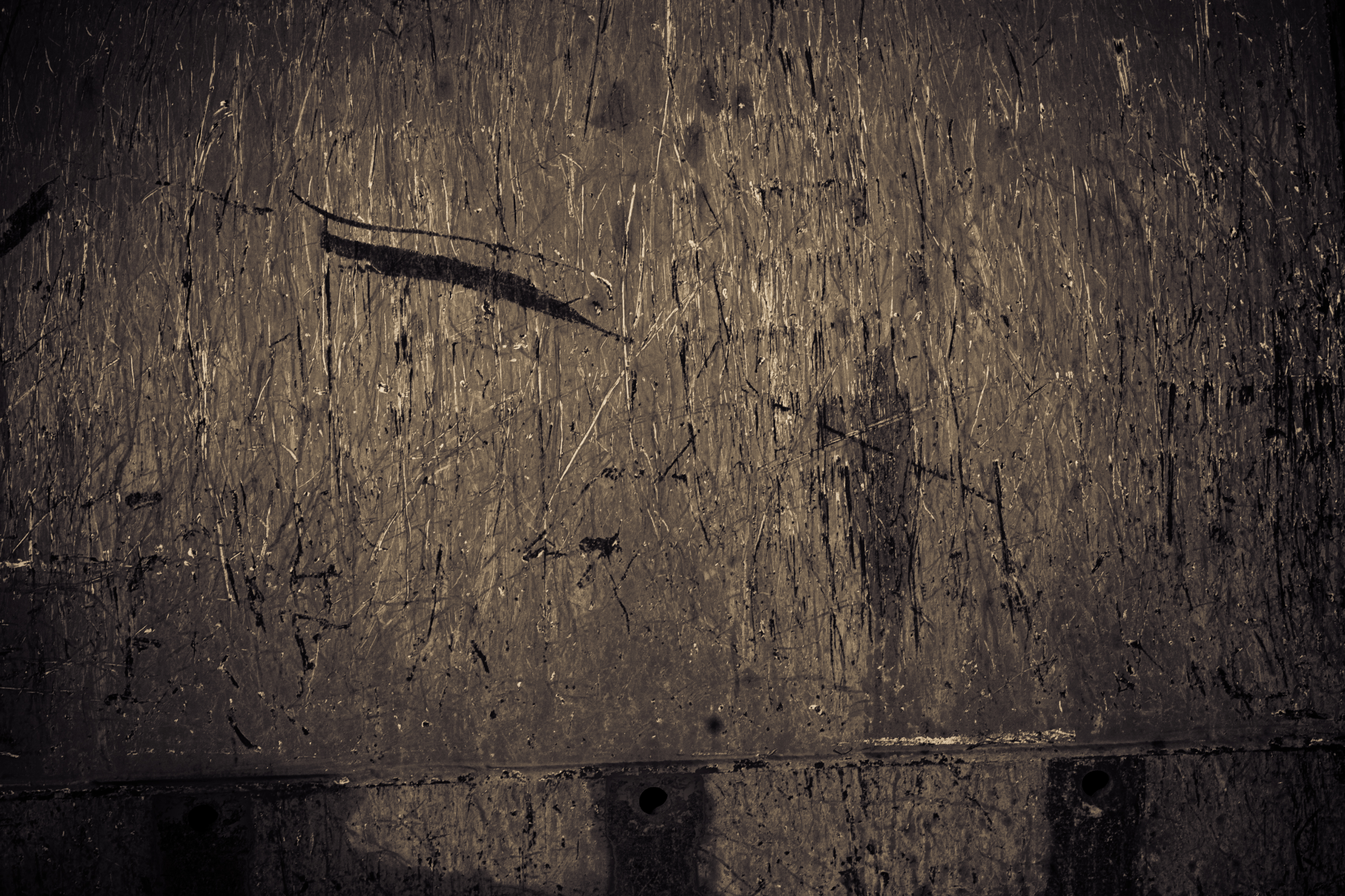 Scratched metal texture photo