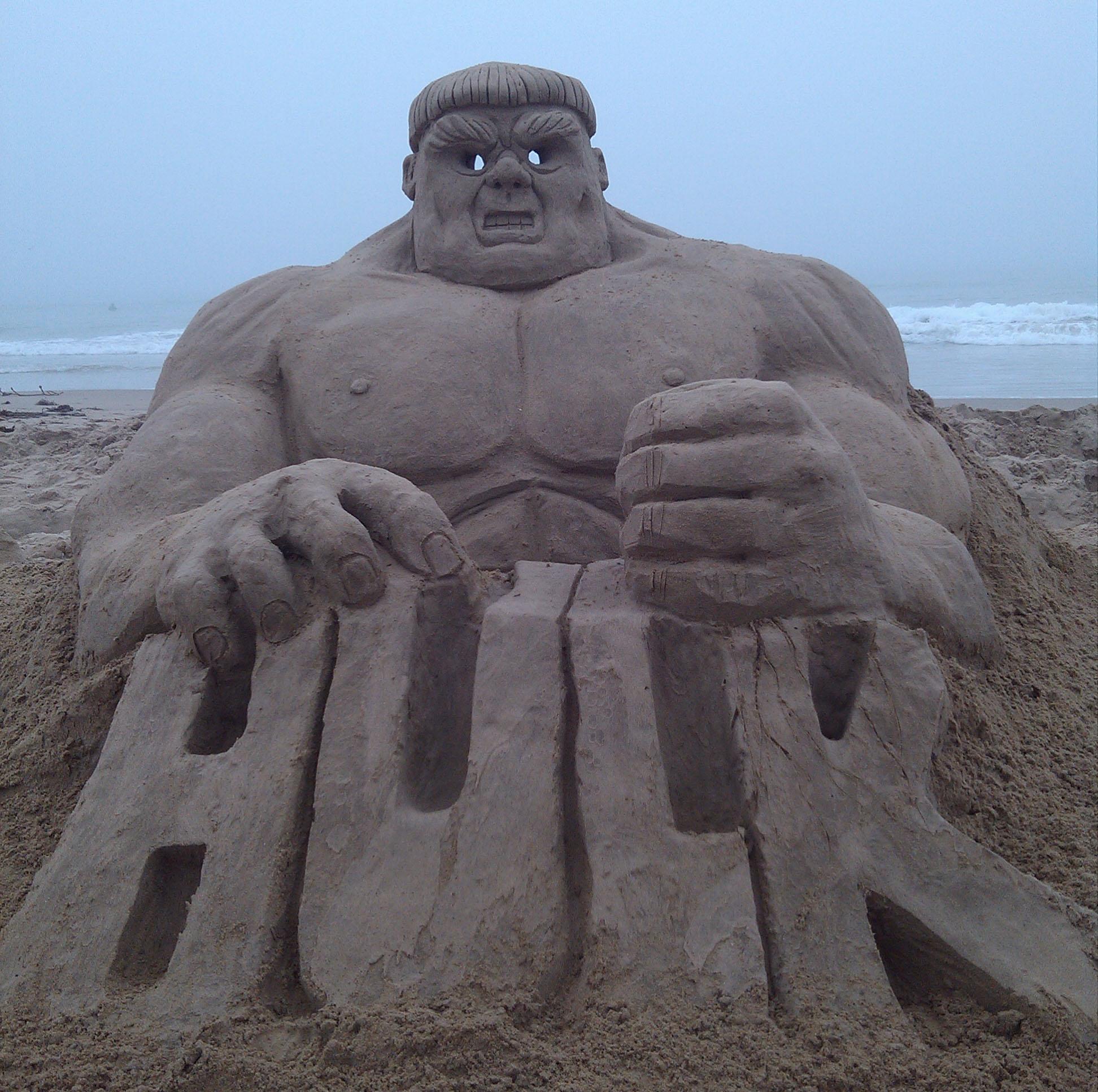 Sand Sculptures - Phil Singer Art Studios
