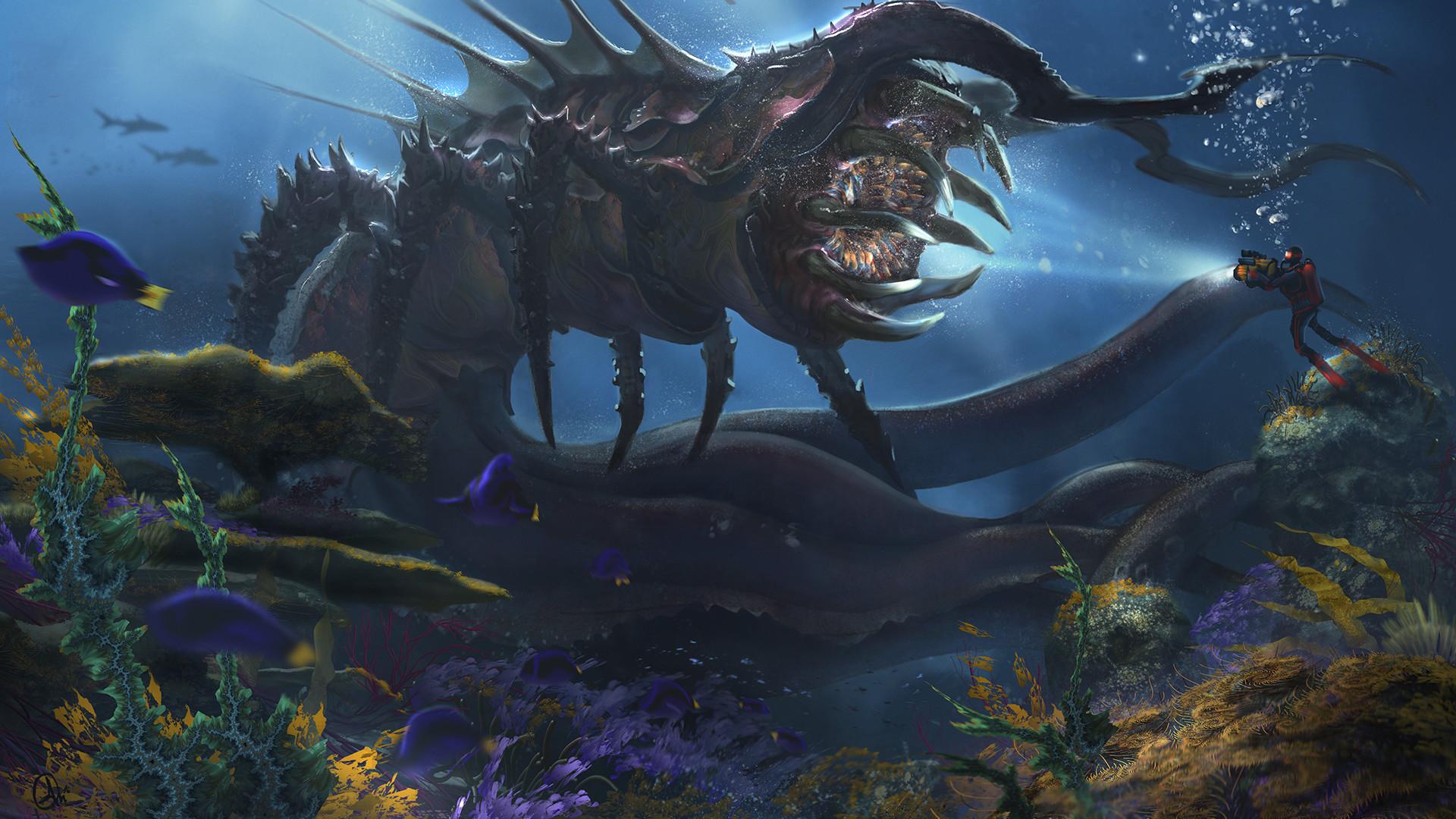 Alejandro Olmedo - Deep Sea Creature