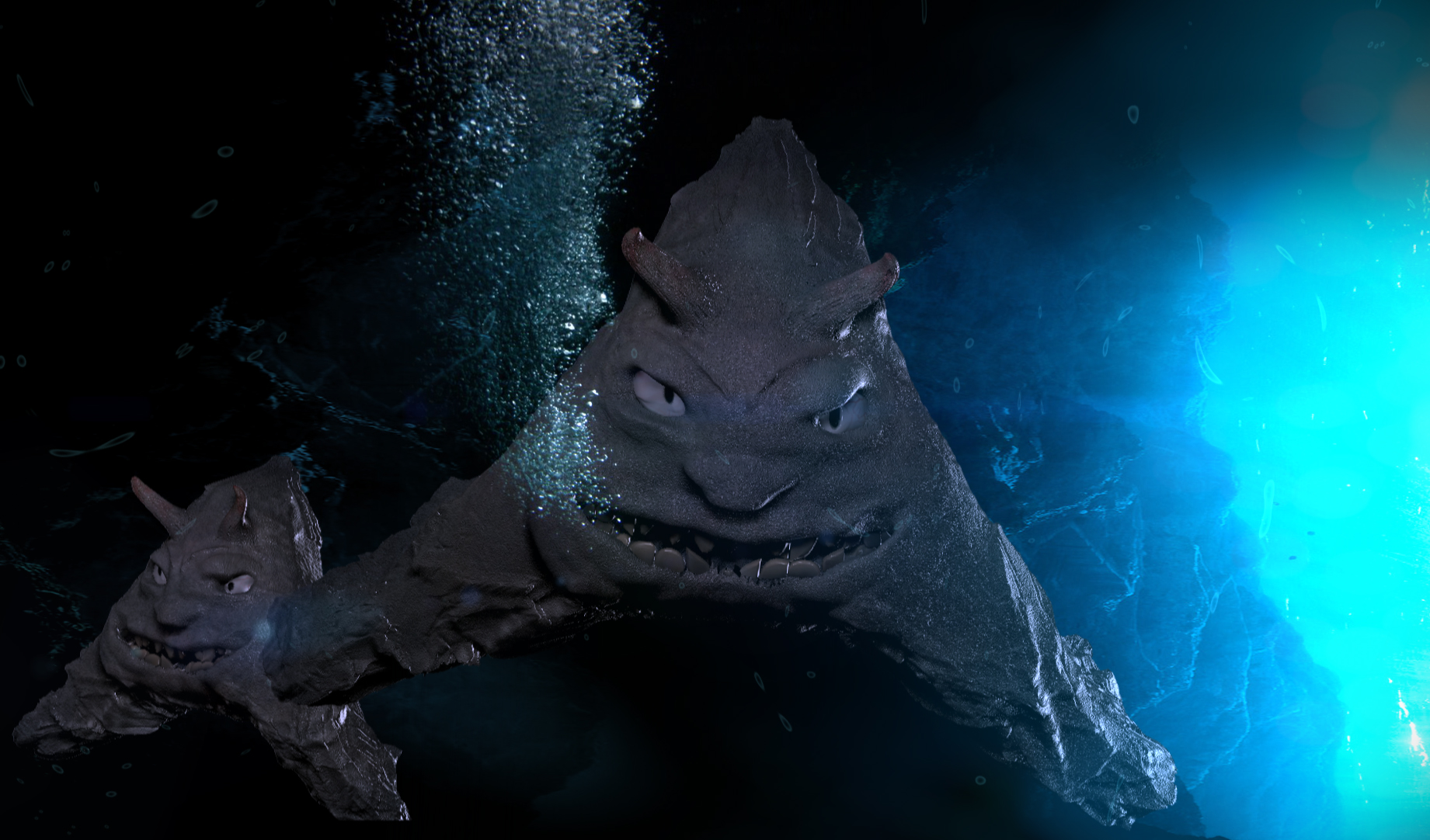 Sea Creature 3D model | CGTrader